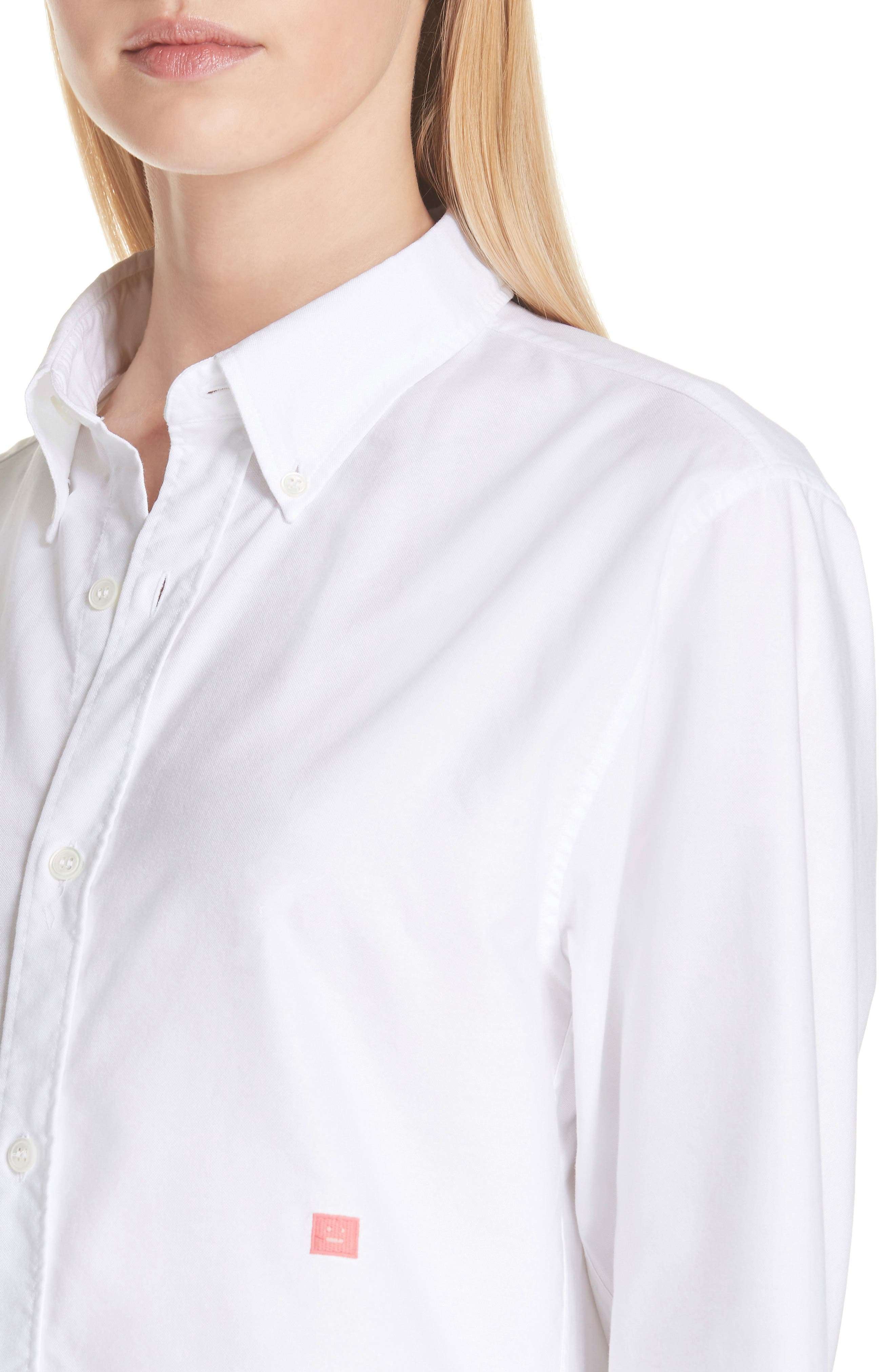 Face Patch Shirt,                             Alternate thumbnail 4, color,                             OPTIC WHITE