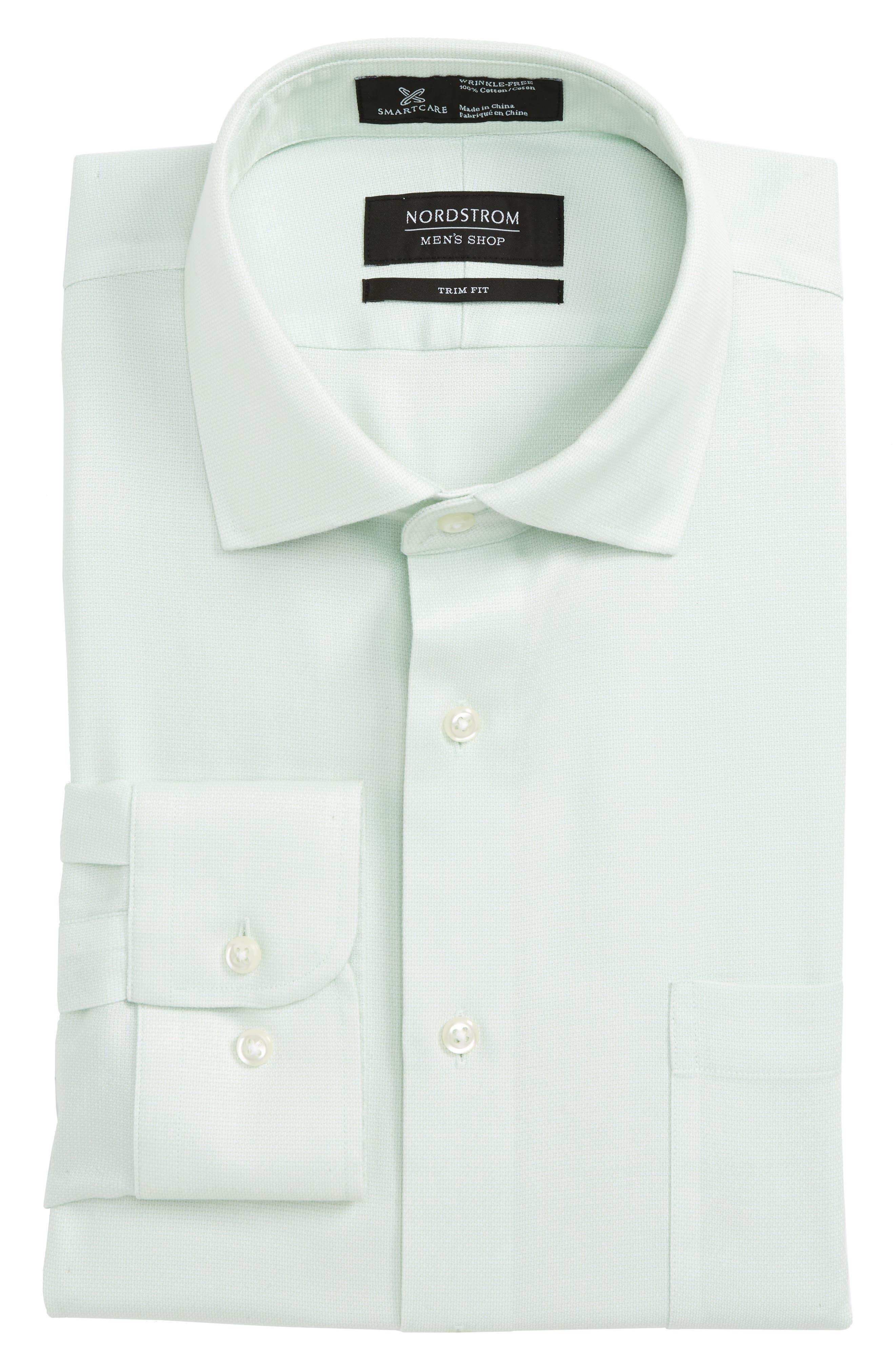 Smartcare<sup>™</sup> Trim Fit Oxford Dress Shirt, Main, color, 330