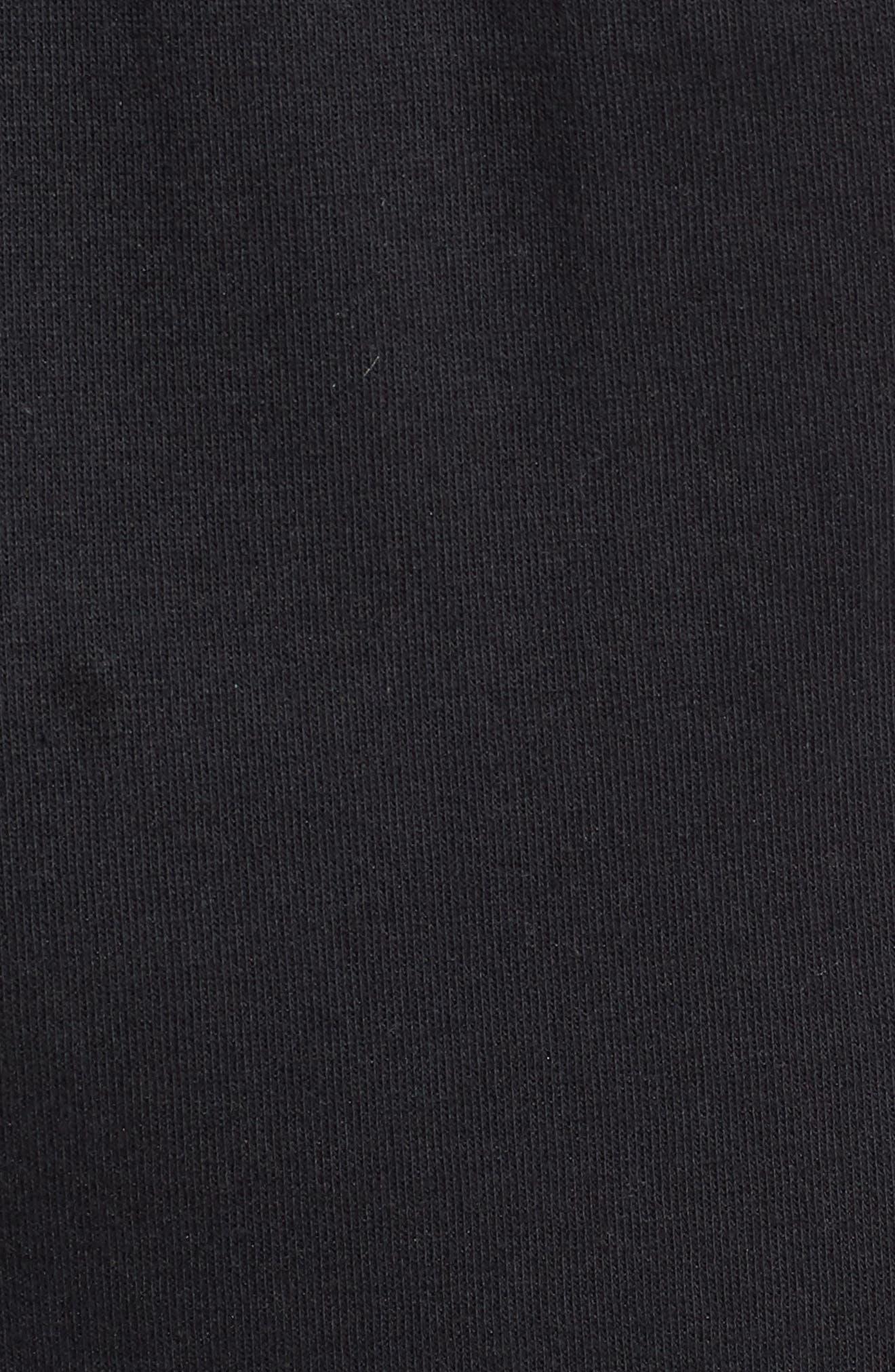 3-Stripes Track Pants,                             Alternate thumbnail 5, color,                             BLACK