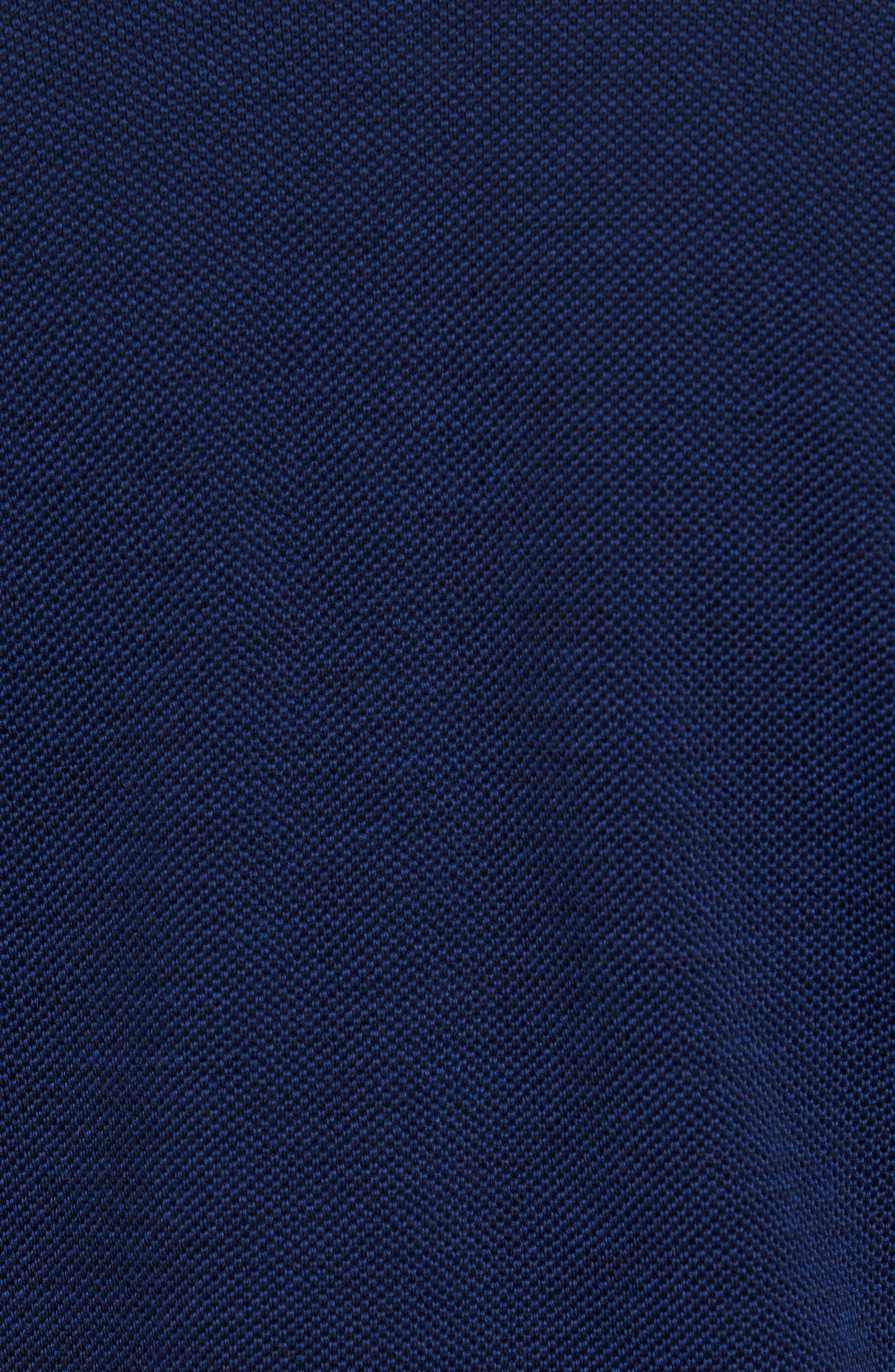 Paul&Shark Piqué Zip Wool Sweater,                             Alternate thumbnail 5, color,                             400