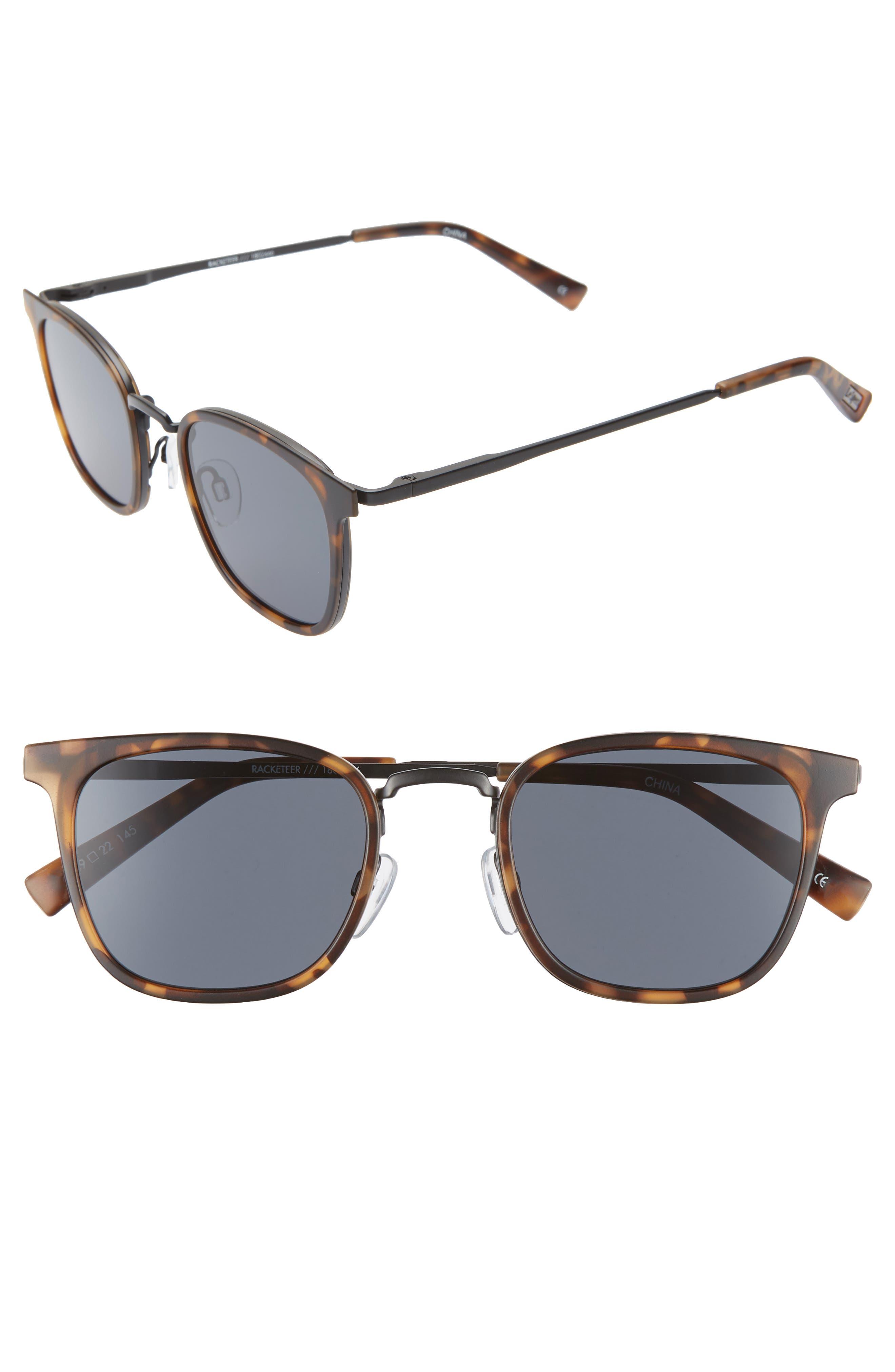 Le Specs 4m Horn Rim Sunglasses - Matte Tortoise