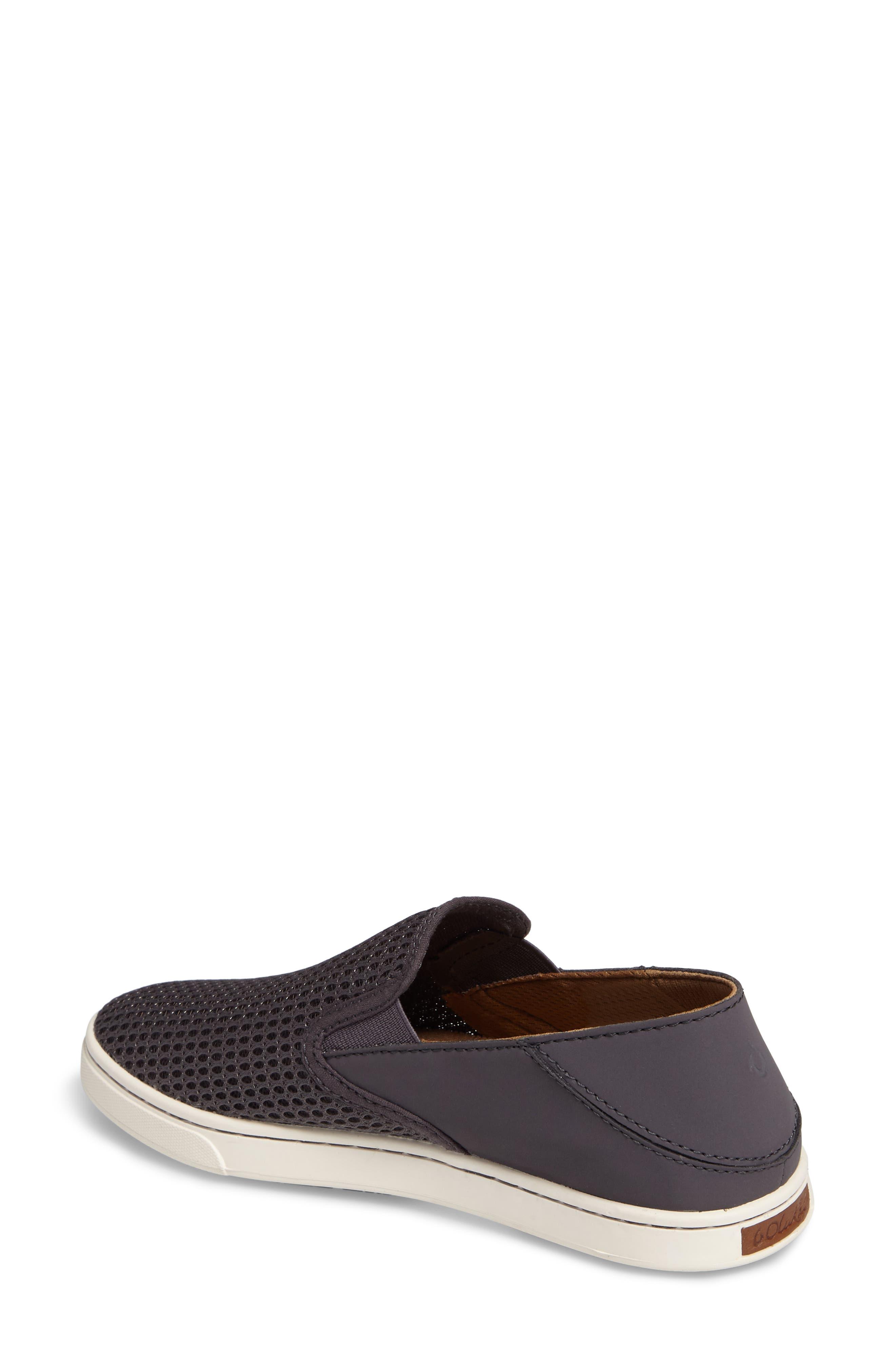 'Pehuea' Slip-On Sneaker,                             Alternate thumbnail 2, color,                             PAVEMENT/ PAVEMENT FABRIC