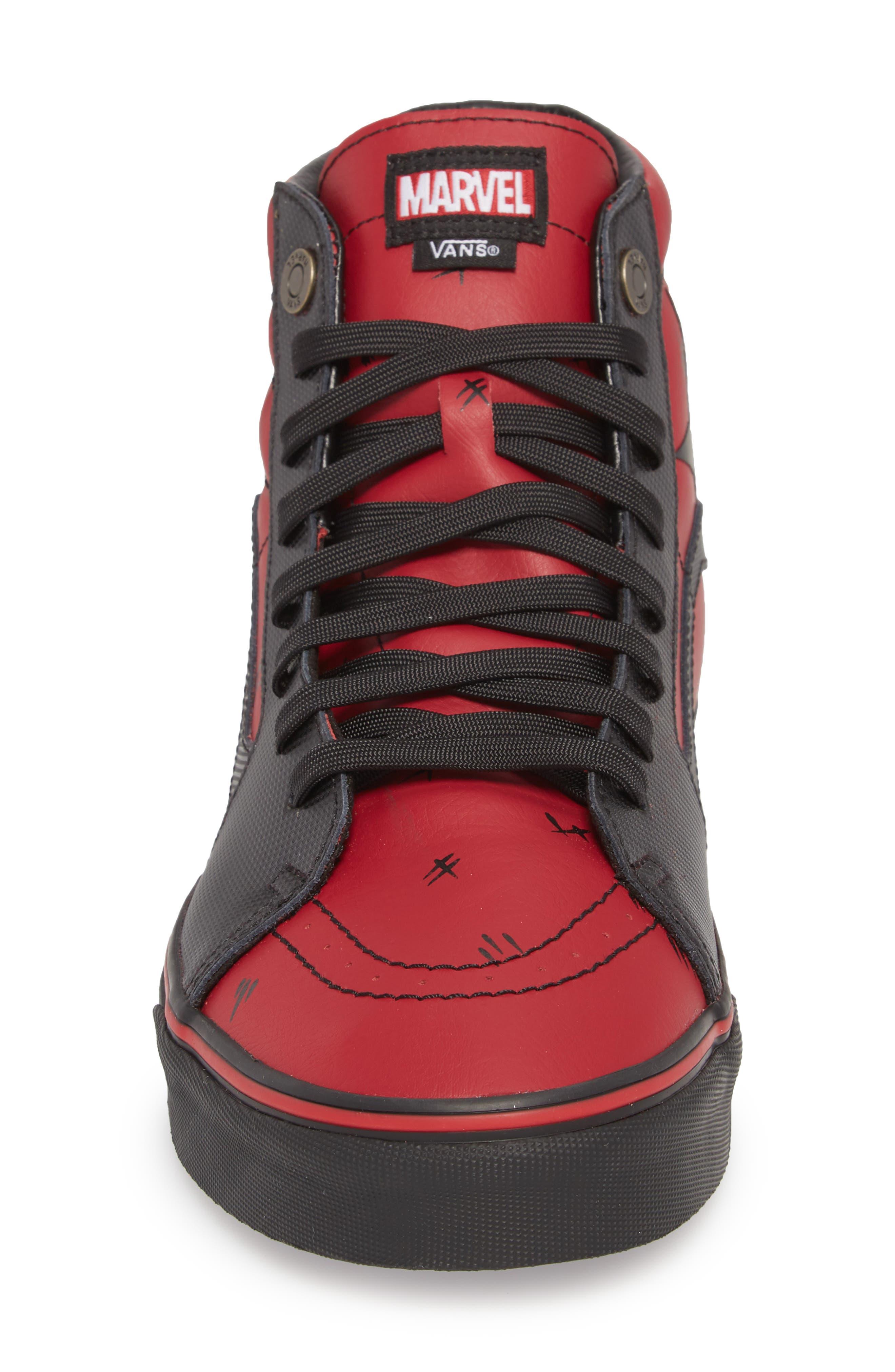 x Marvel<sup>®</sup> UA Sk8-Hi Sneaker,                             Alternate thumbnail 8, color,
