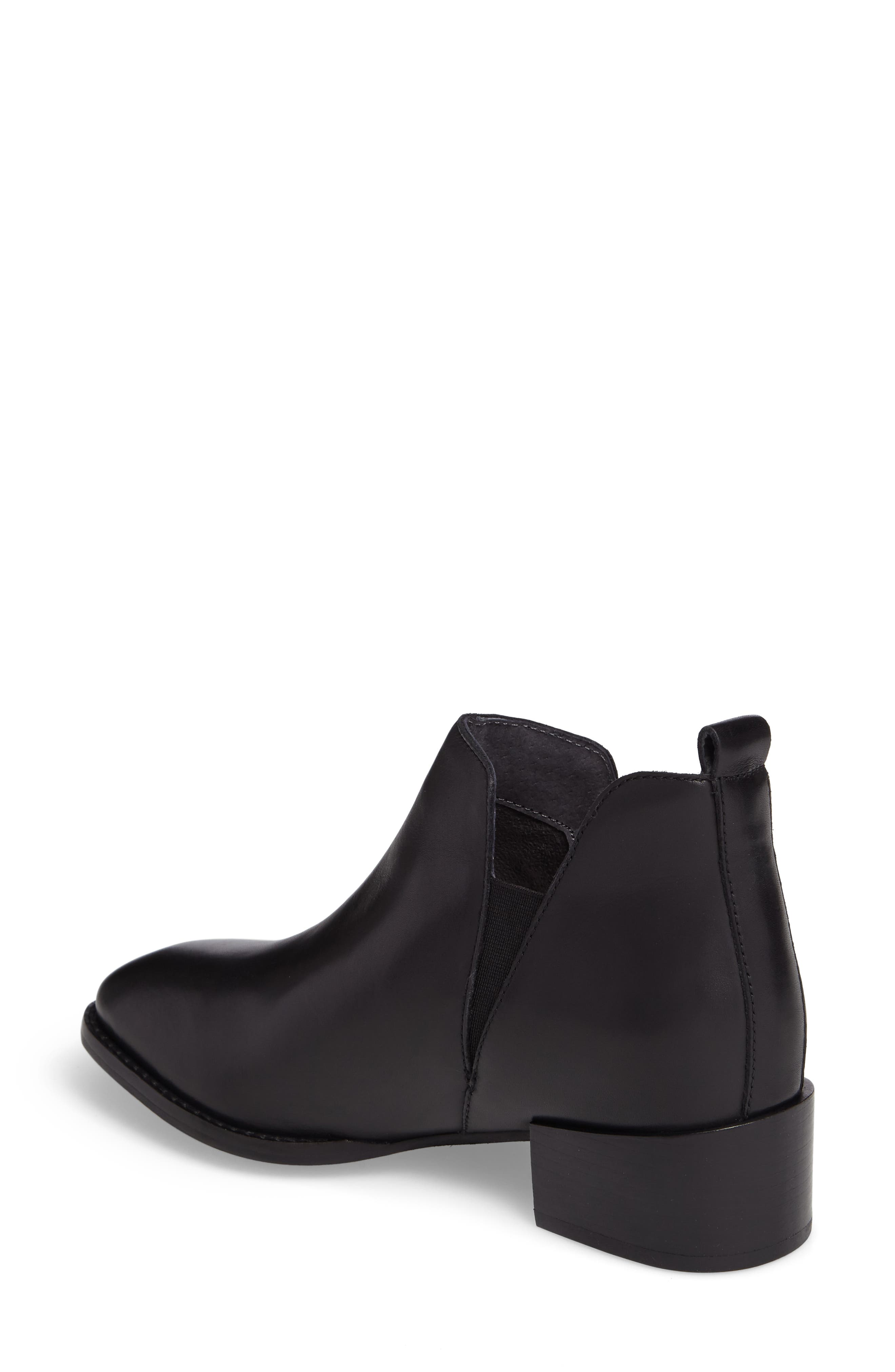 Offstage Boot,                             Alternate thumbnail 2, color,                             BLACK LEATHER