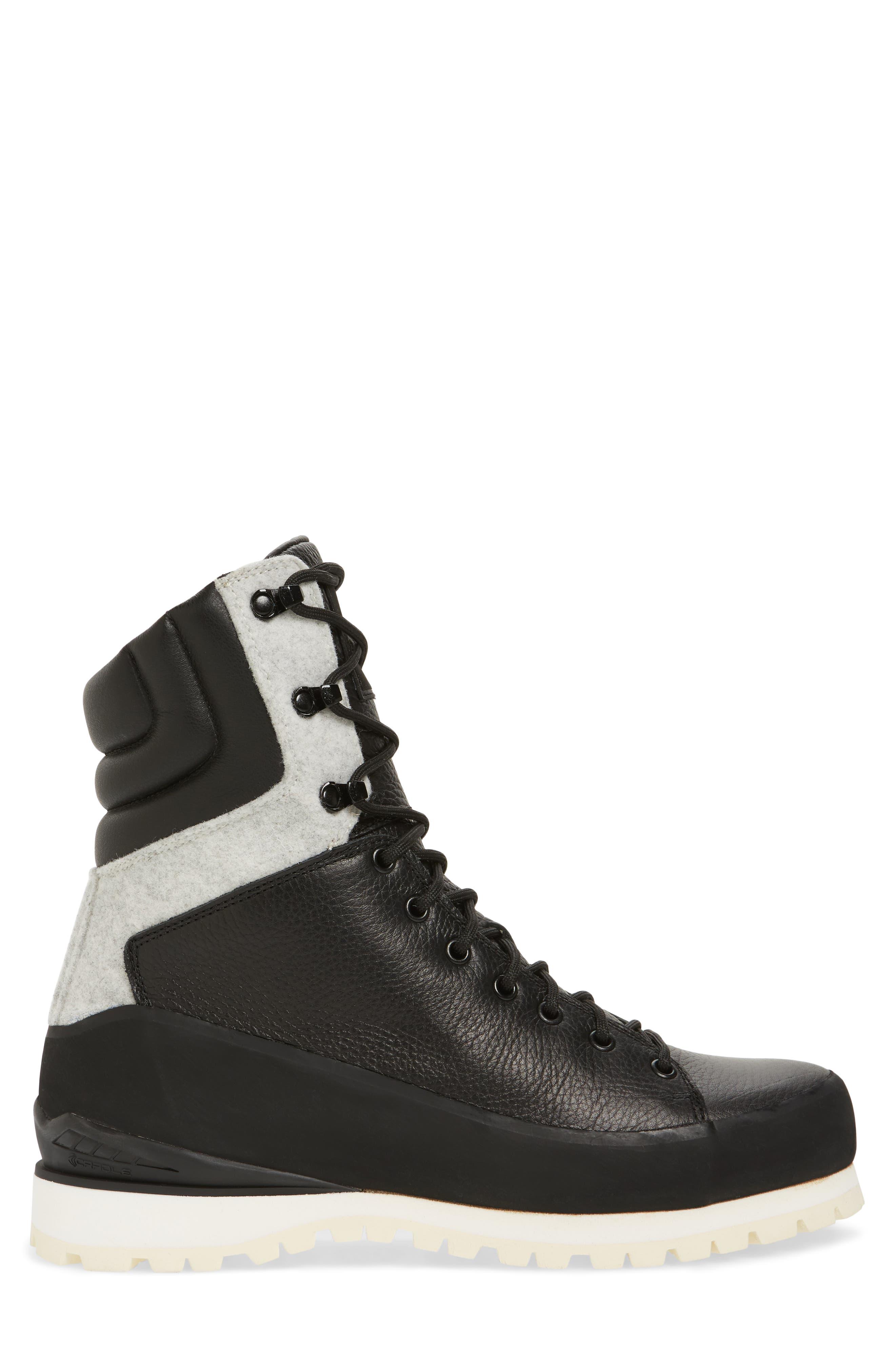 Cryos Boot,                             Alternate thumbnail 3, color,                             TNF BLACK/ GLACIER WHITE