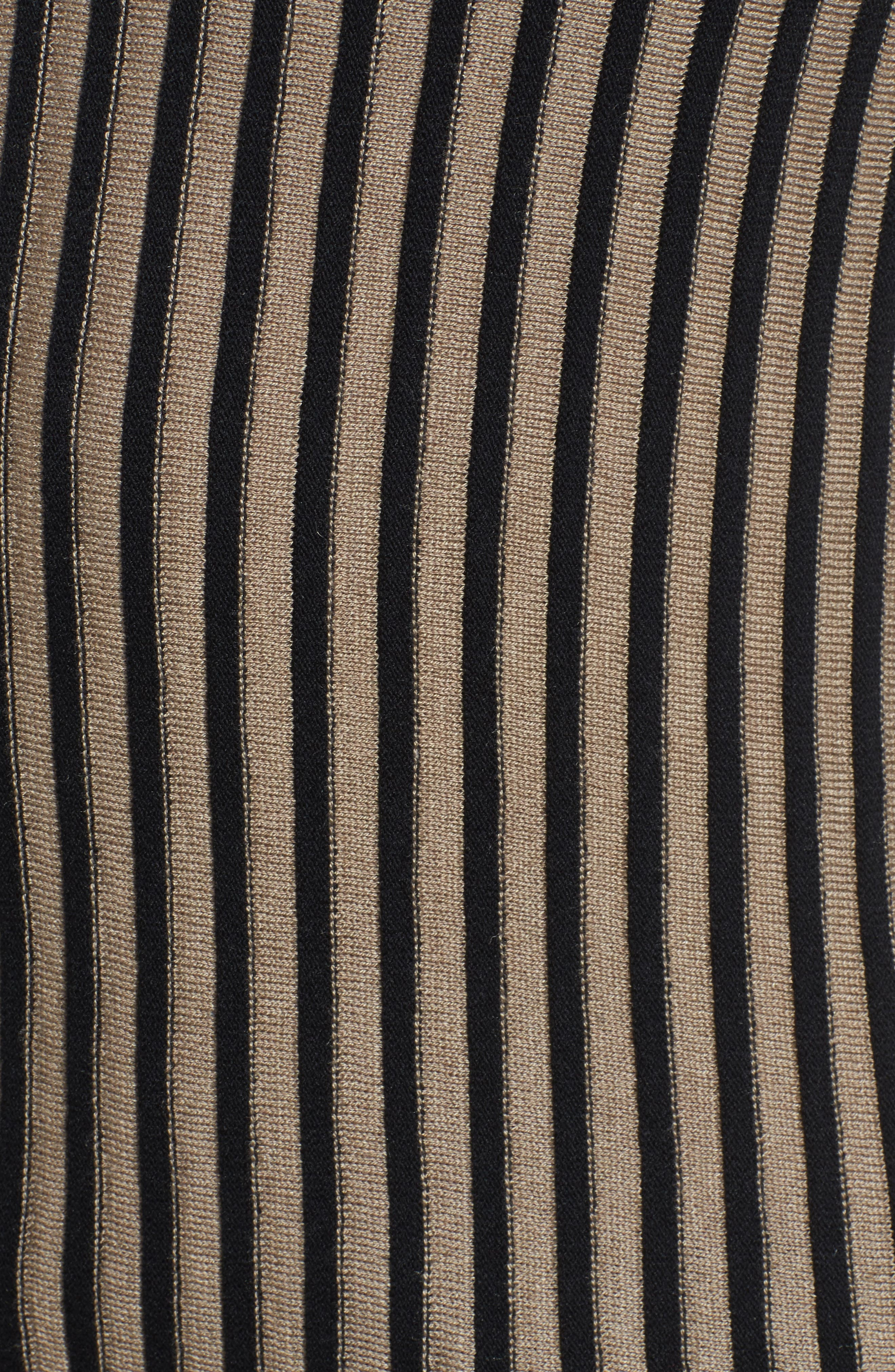 Stripe Sweater,                             Alternate thumbnail 5, color,                             010