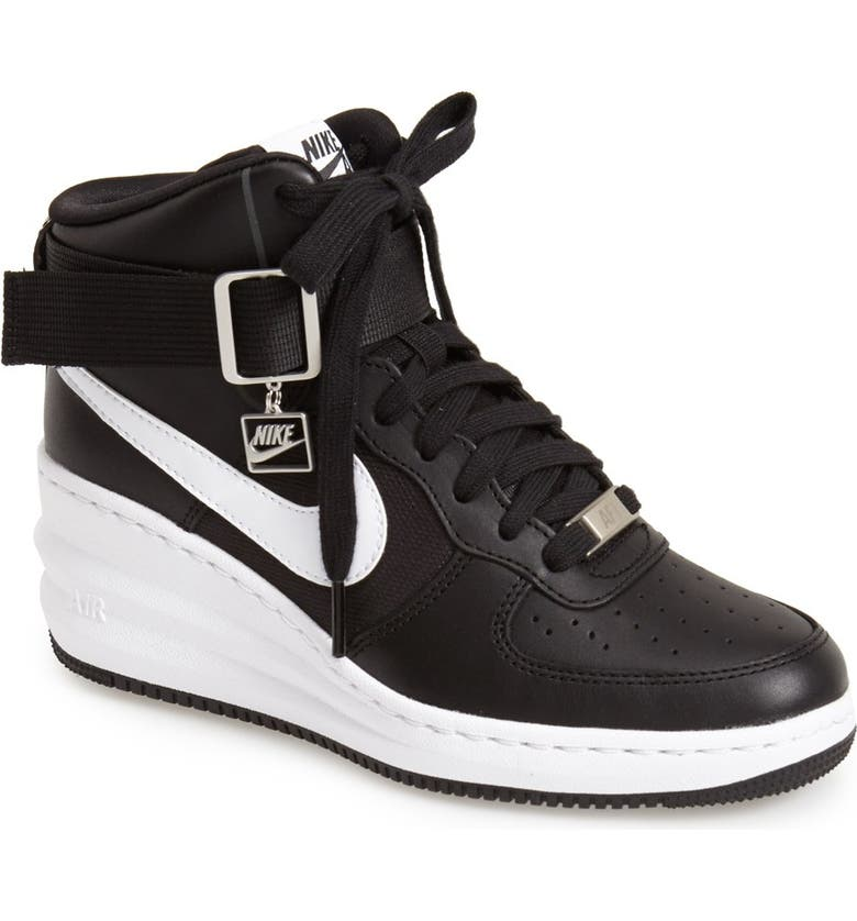ae1dc04fefe Nike  Lunar Force Sky Hi  Wedge Sneaker (Women)