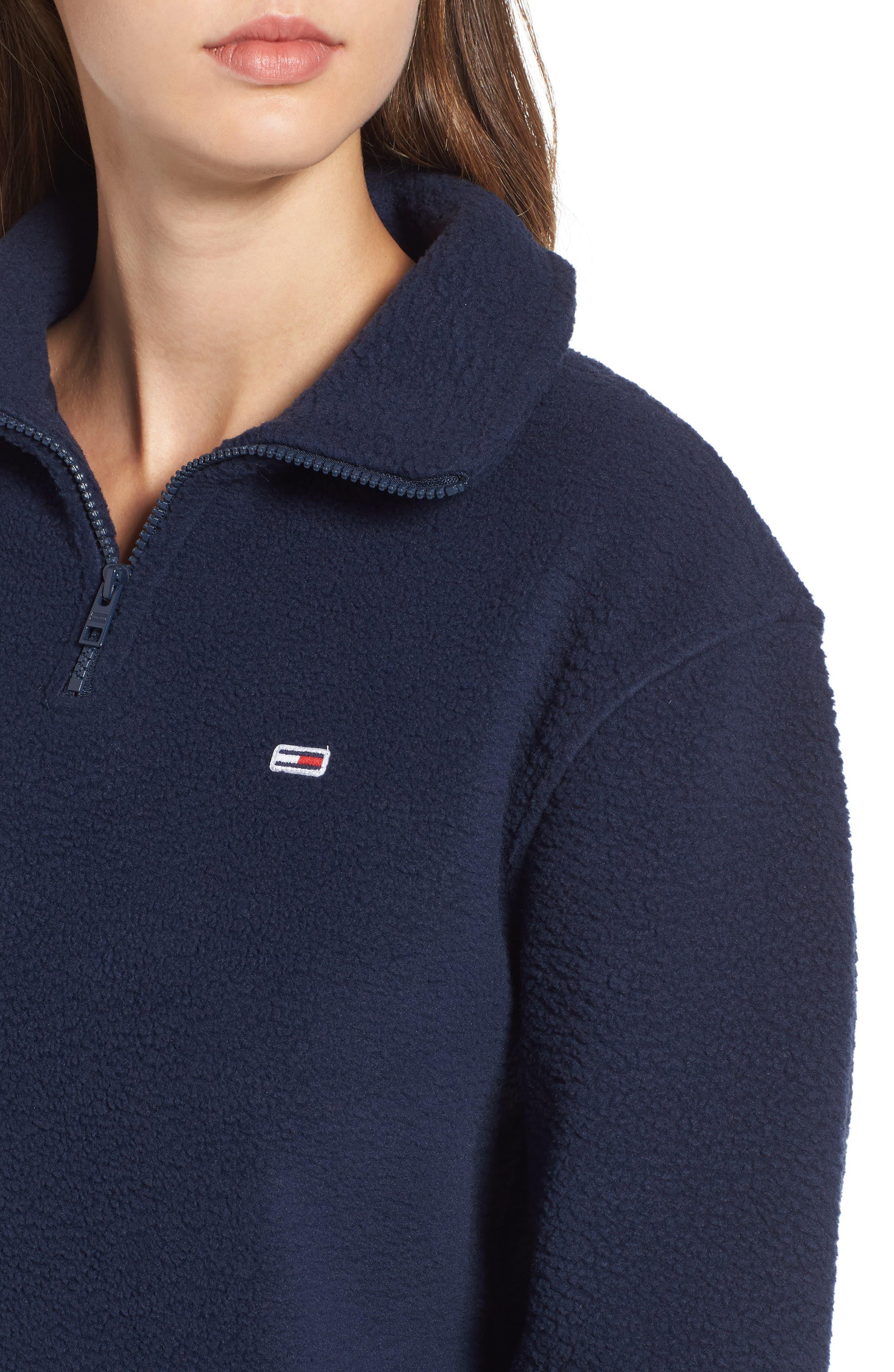 TJW Classics Polar Fleece Sweatshirt,                             Alternate thumbnail 4, color,                             002