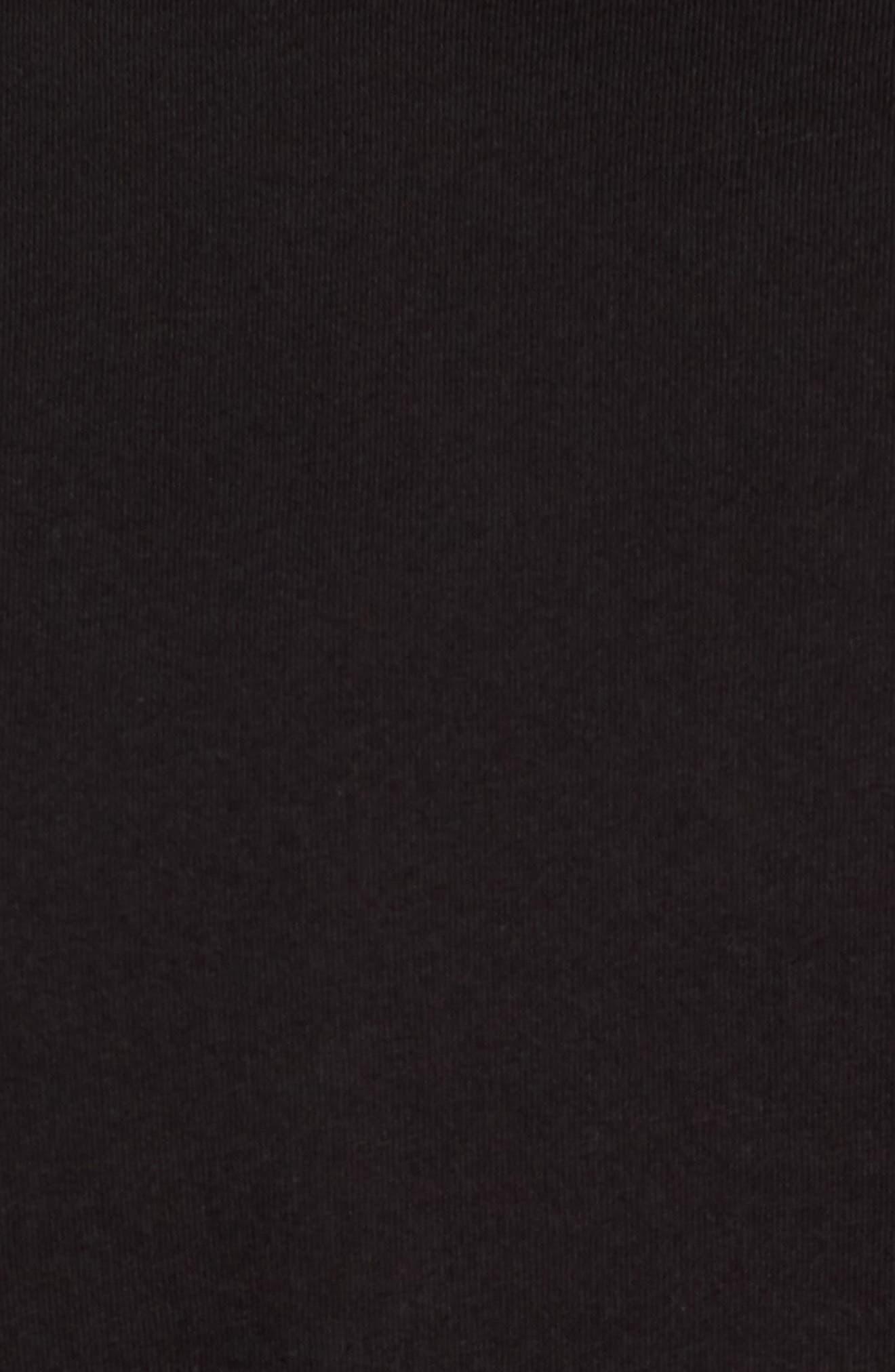 Long Sleeve Jersey Polo,                             Alternate thumbnail 5, color,                             001
