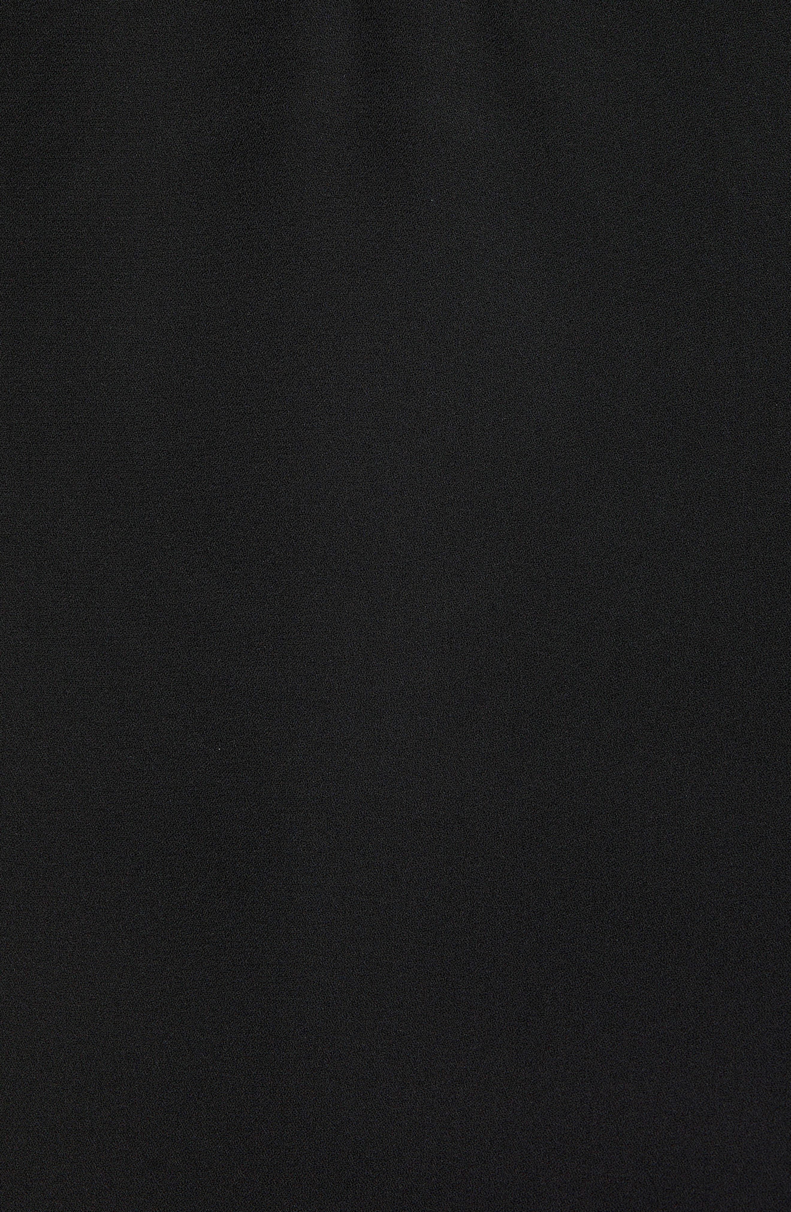 SOCIALITE,                             Lace Trim Camisole Top,                             Alternate thumbnail 5, color,                             BLACK