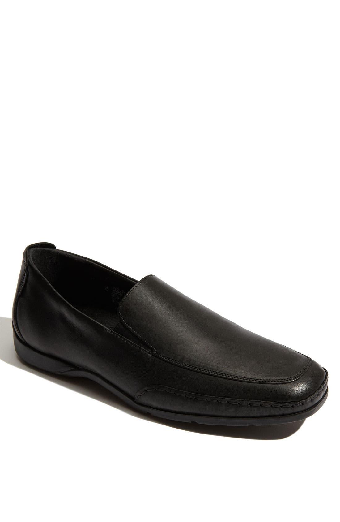 'Edlef' Slip-On,                         Main,                         color, BLACK SMOOTH LEATHER