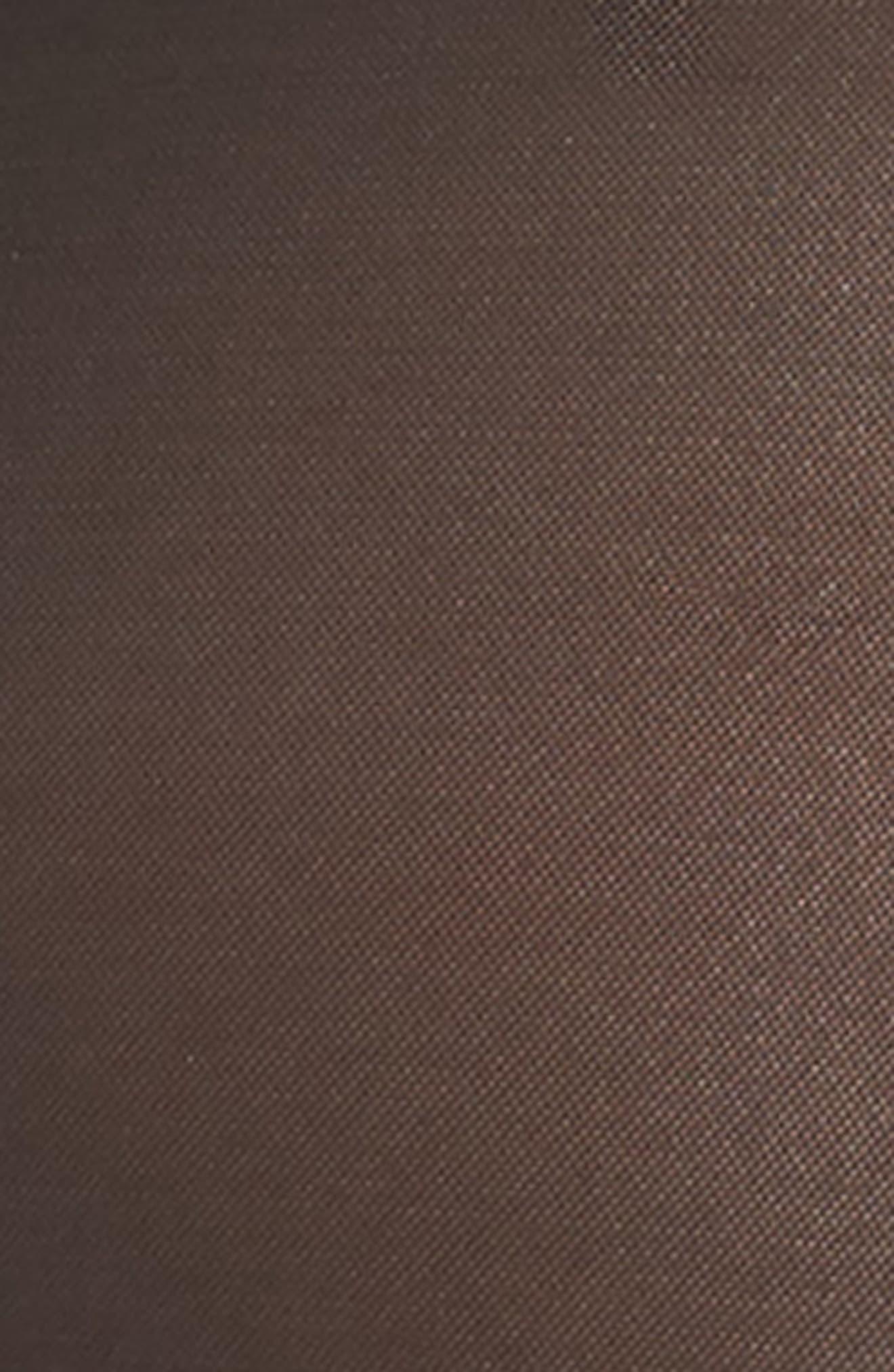 Candace Noir High Waist Panties with Garter Attachments,                             Alternate thumbnail 4, color,                             001