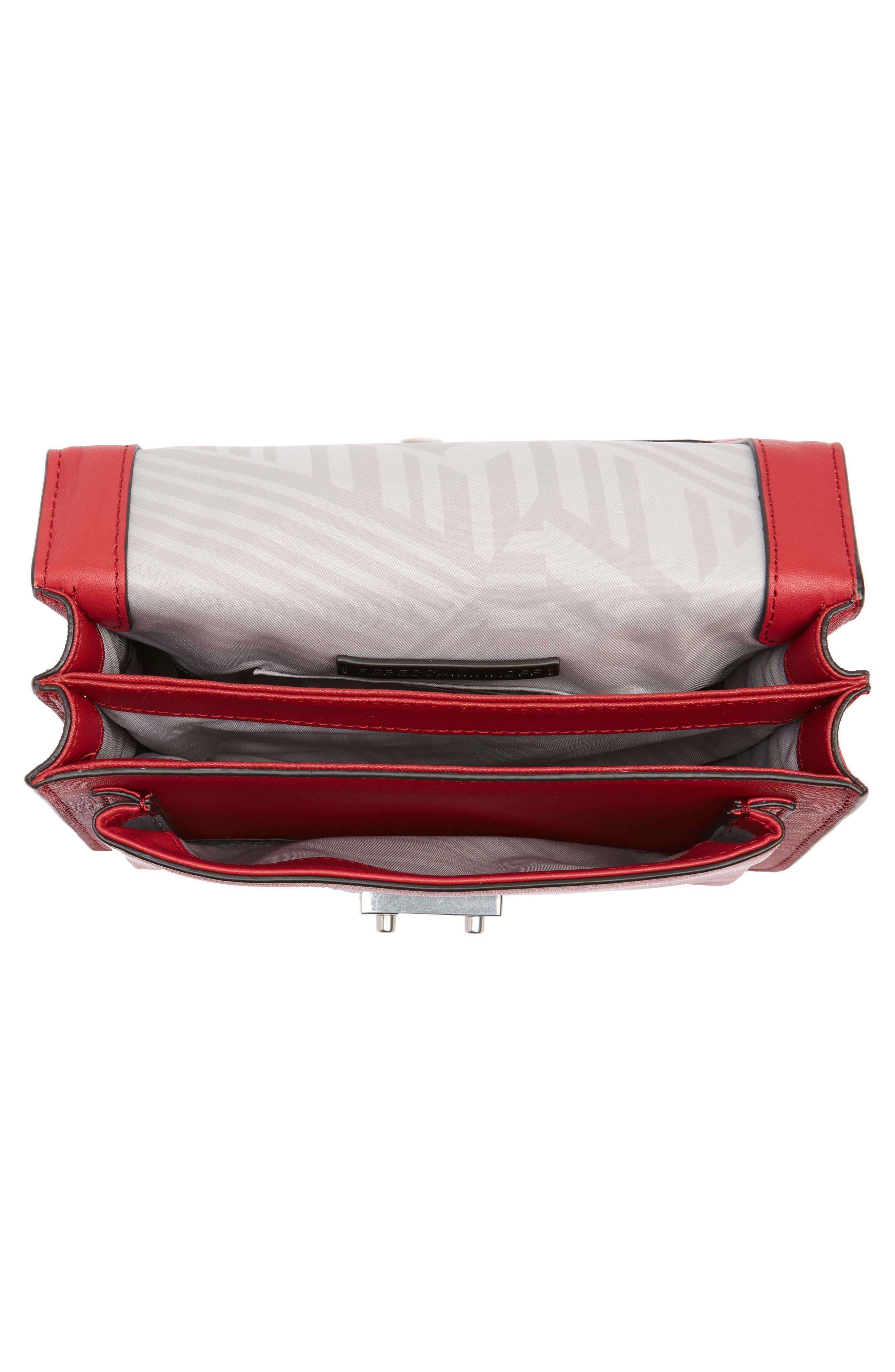 Medium Christy Leather Shoulder Bag,                             Alternate thumbnail 19, color,