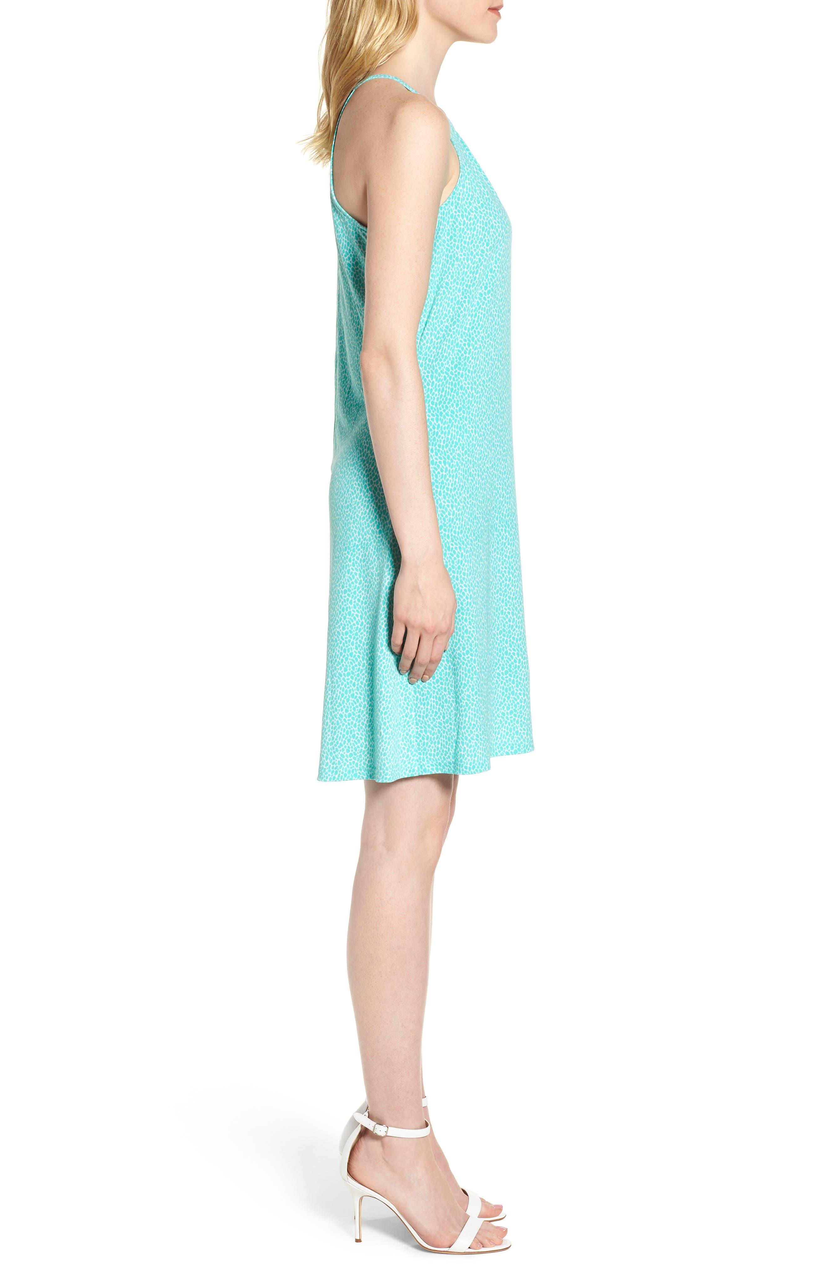 Leo Halter Top Mini Dress,                             Alternate thumbnail 3, color,                             199