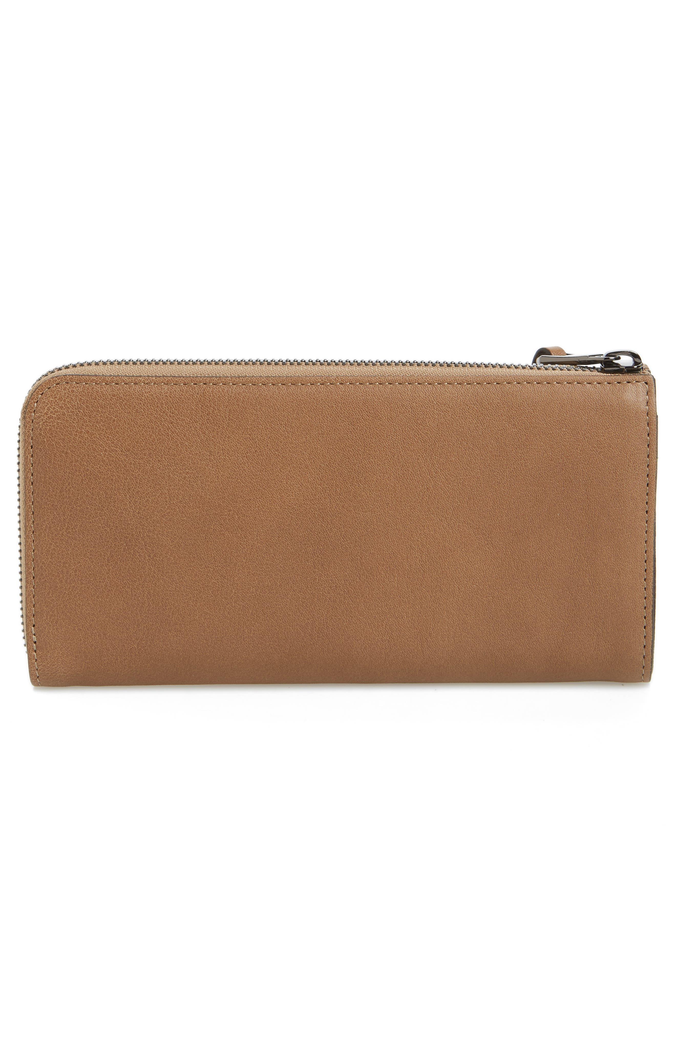 3D Leather Wallet,                             Alternate thumbnail 3, color,                             250