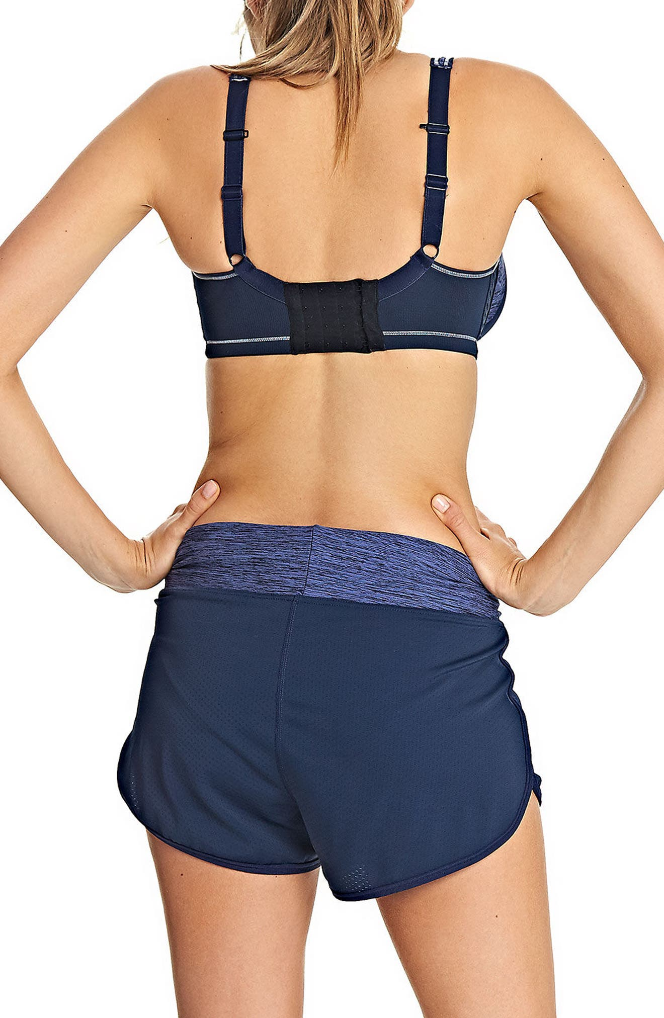 Sonic Underwire Sports Bra,                             Alternate thumbnail 2, color,                             TOTAL ECLIPSE