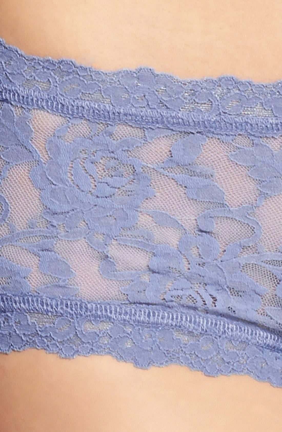 'Signature Lace' Boyshorts,                             Alternate thumbnail 458, color,