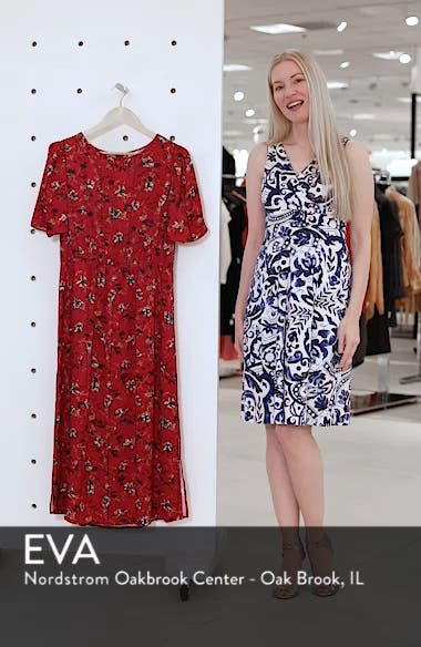 Floral Midi Dress, sales video thumbnail