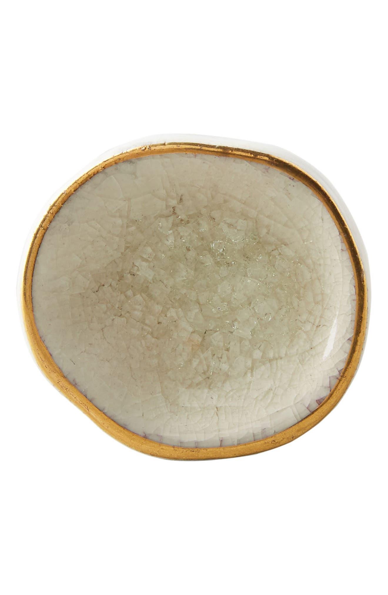 Ocean Crater Ceramic Knob,                             Alternate thumbnail 10, color,