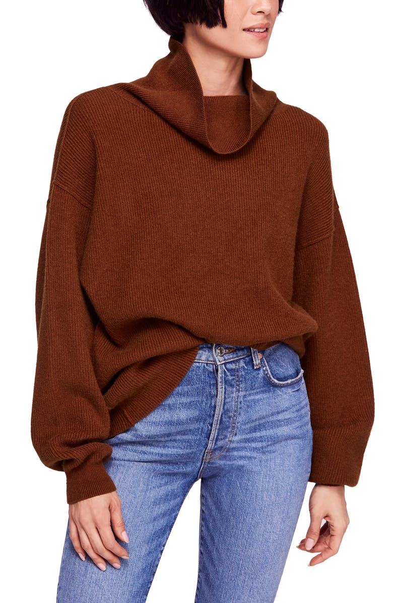 free people softly structured knit tunic nordstrom
