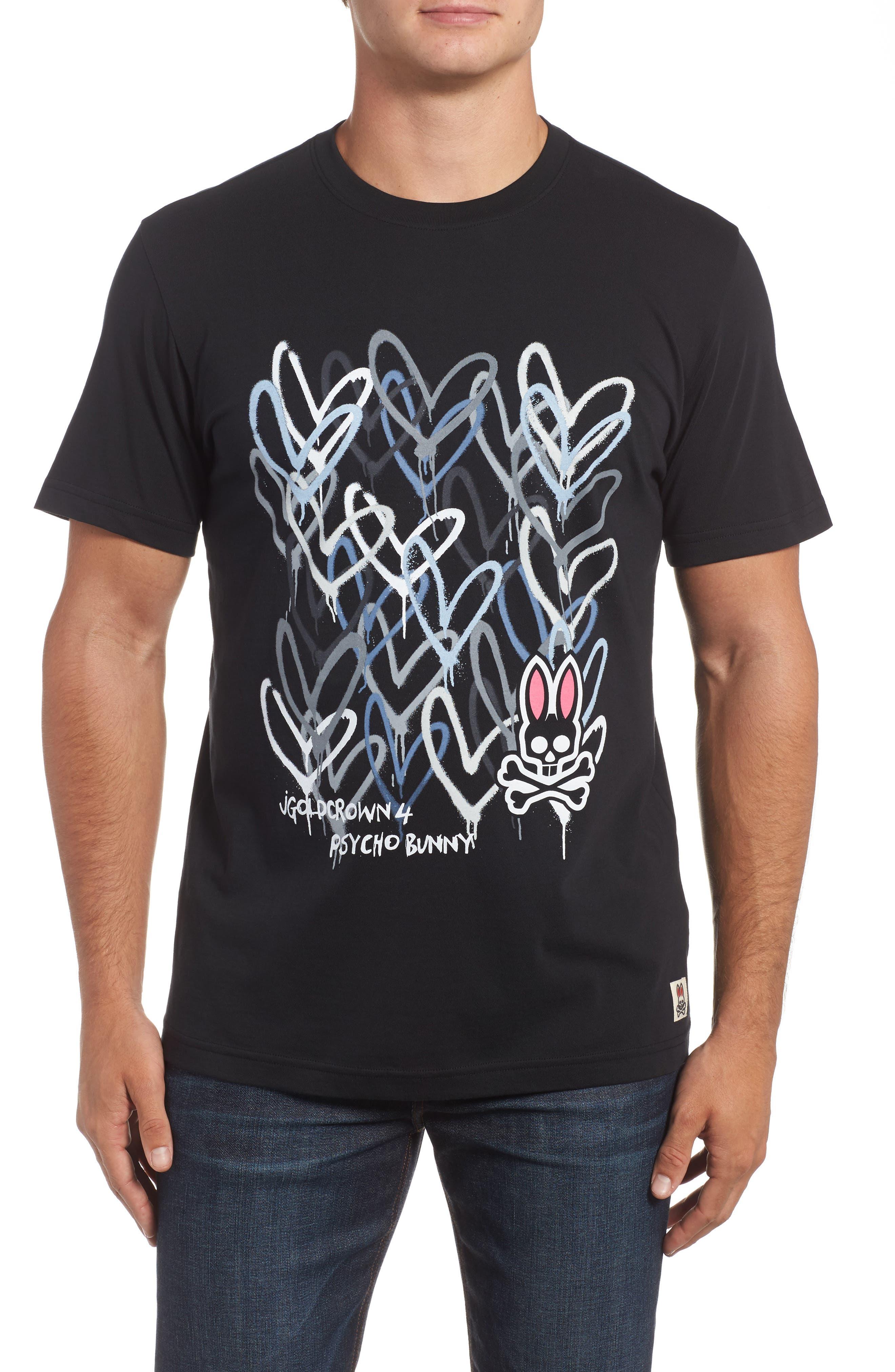 Goldcrown Graphic T-Shirt,                             Main thumbnail 1, color,                             001