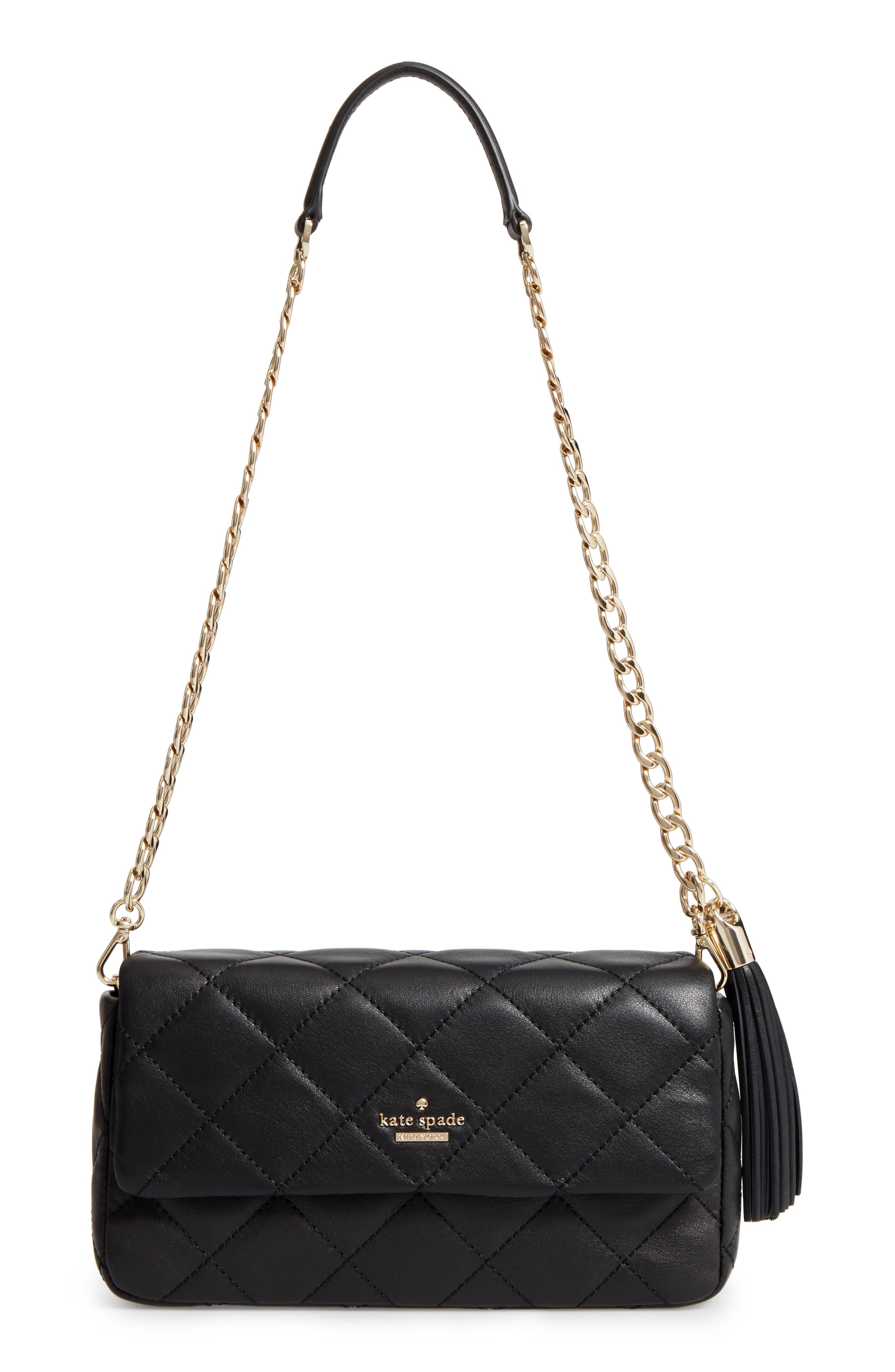 emerson place - serena leather shoulder bag,                         Main,                         color, 001