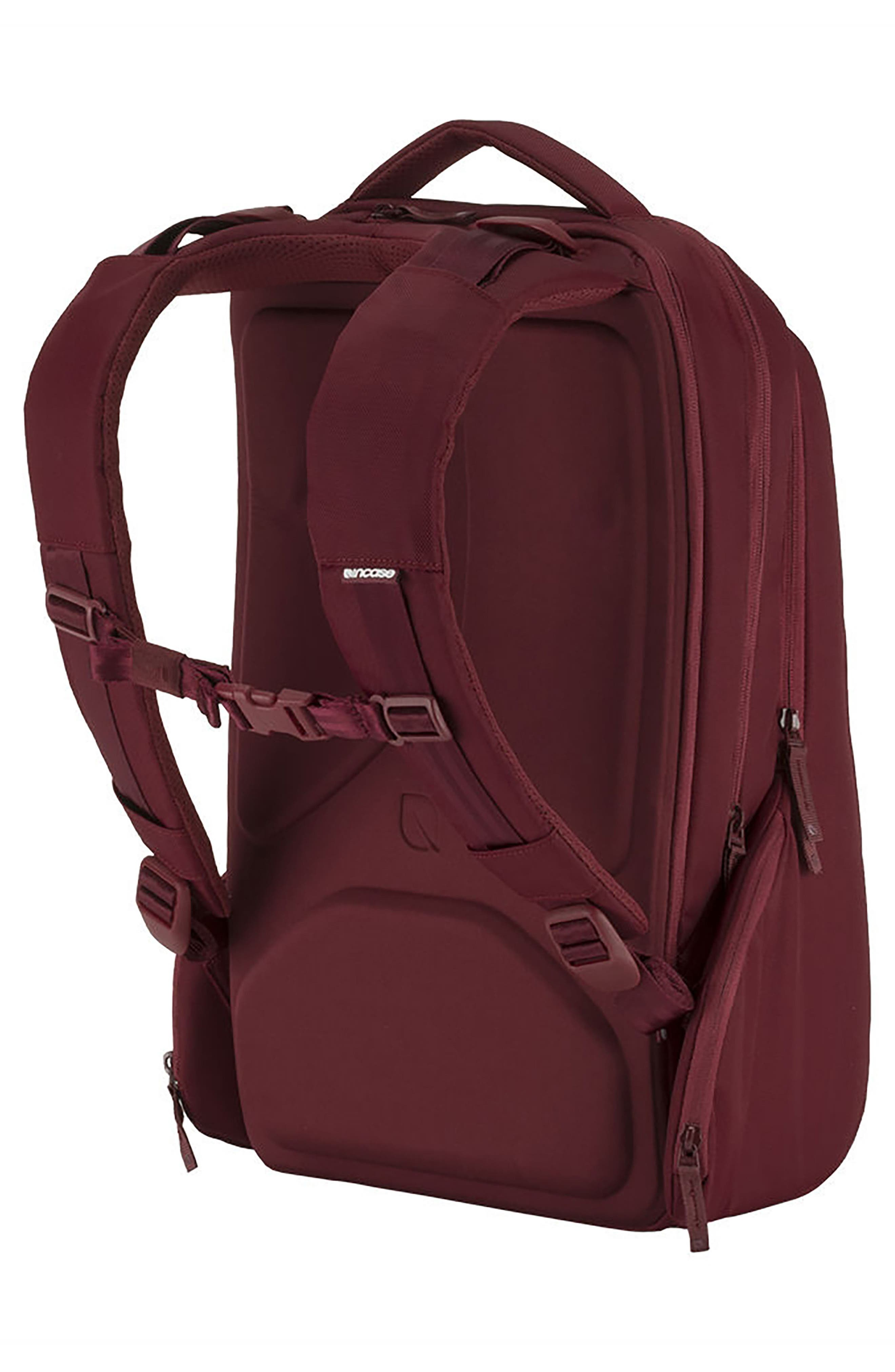 Icon Backpack,                             Alternate thumbnail 2, color,                             DEEP RED
