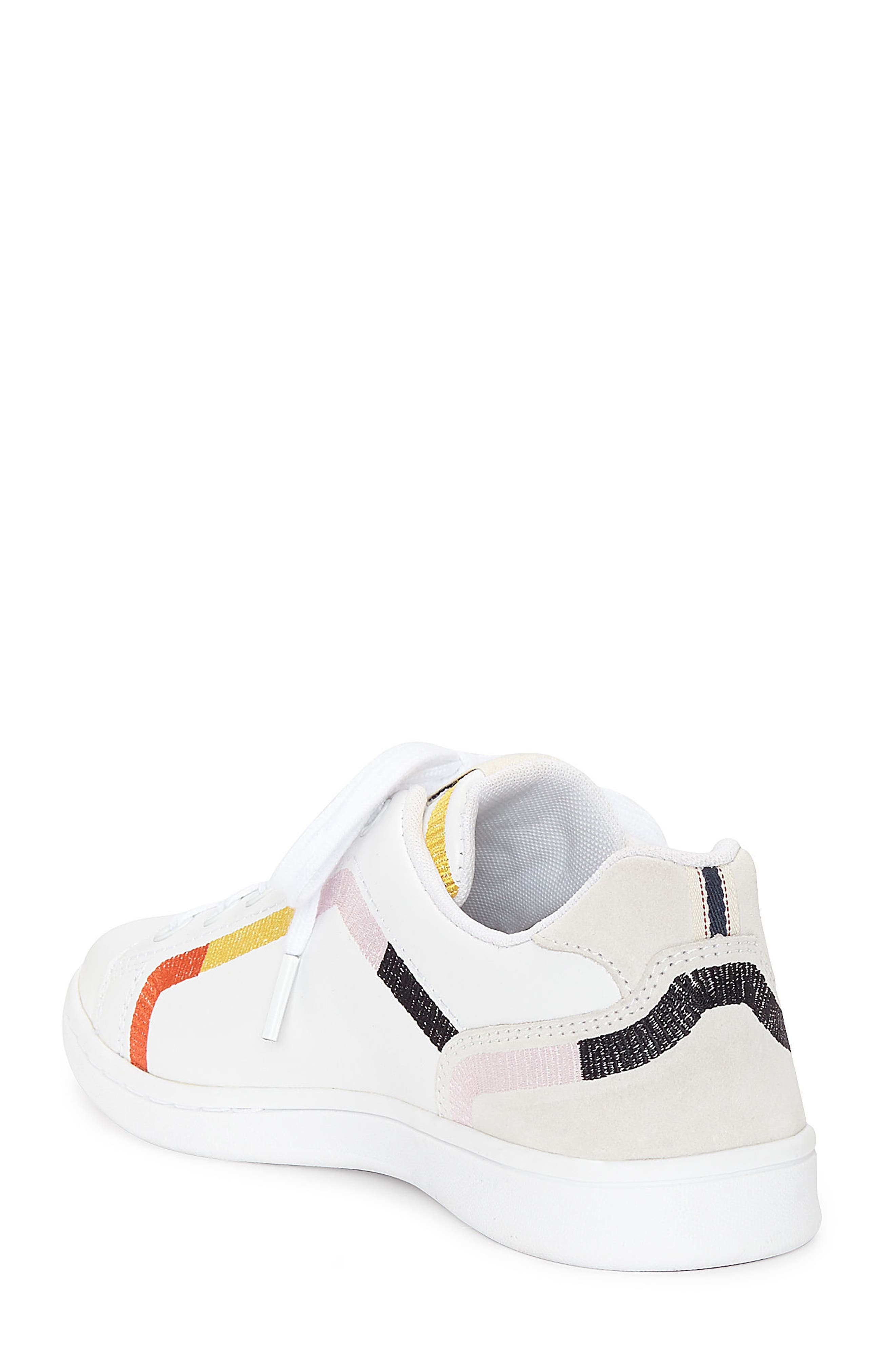 Costella Sneaker,                             Alternate thumbnail 2, color,                             PURE WHITE LEATHER