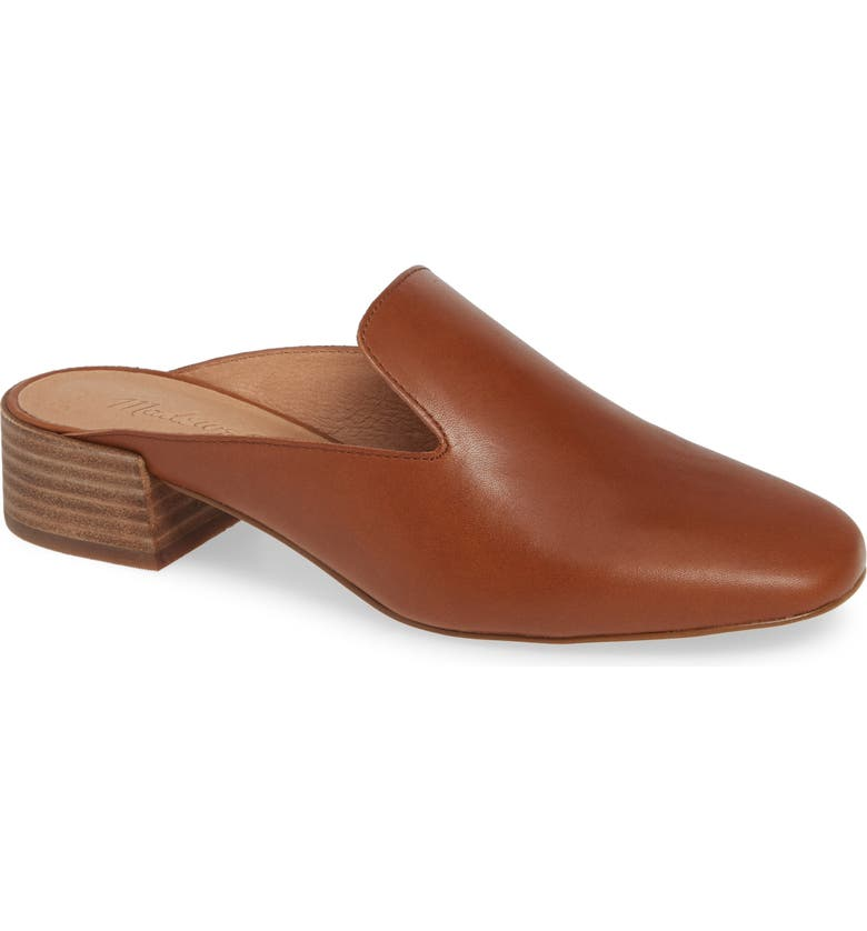 The Willa Loafer Mule,                         Main,                         color, ENGLISH SADDLE VINTAGE LEATHER