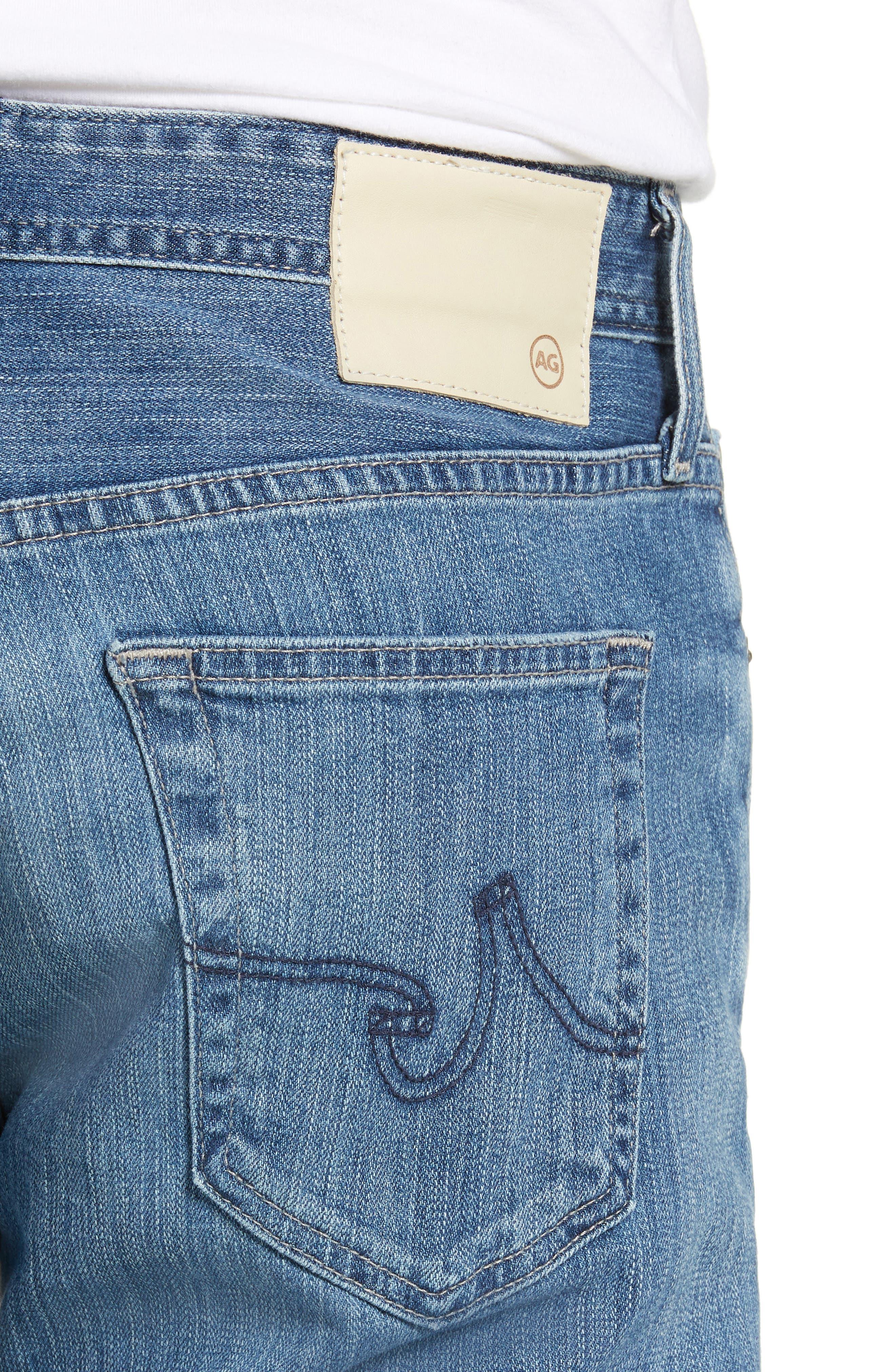 Everett Slim Straight Leg Jeans,                             Alternate thumbnail 4, color,                             14 YEARS ENGAGEMENT