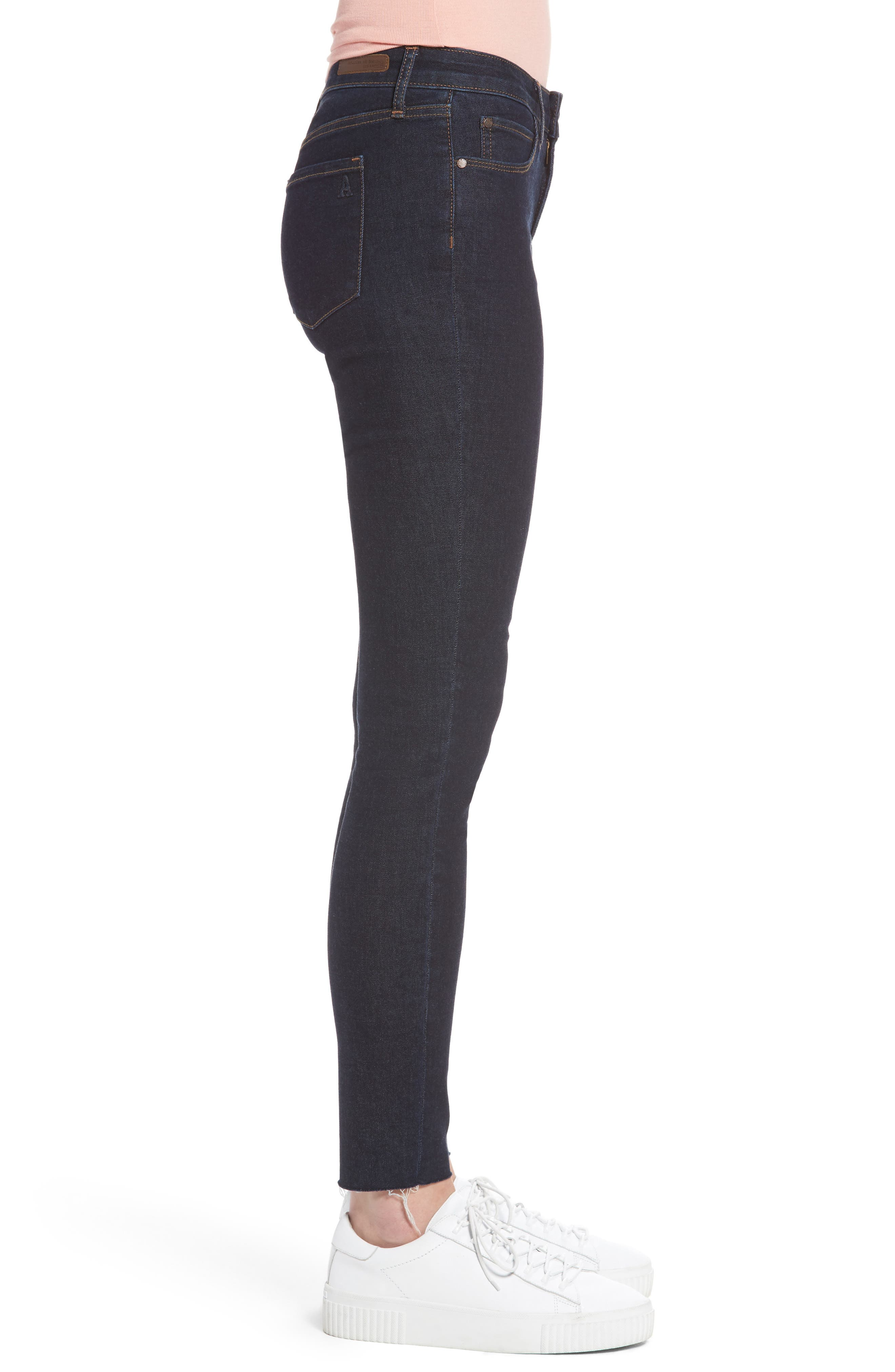 Sarah Ankle Skinny Jeans,                             Alternate thumbnail 3, color,                             495