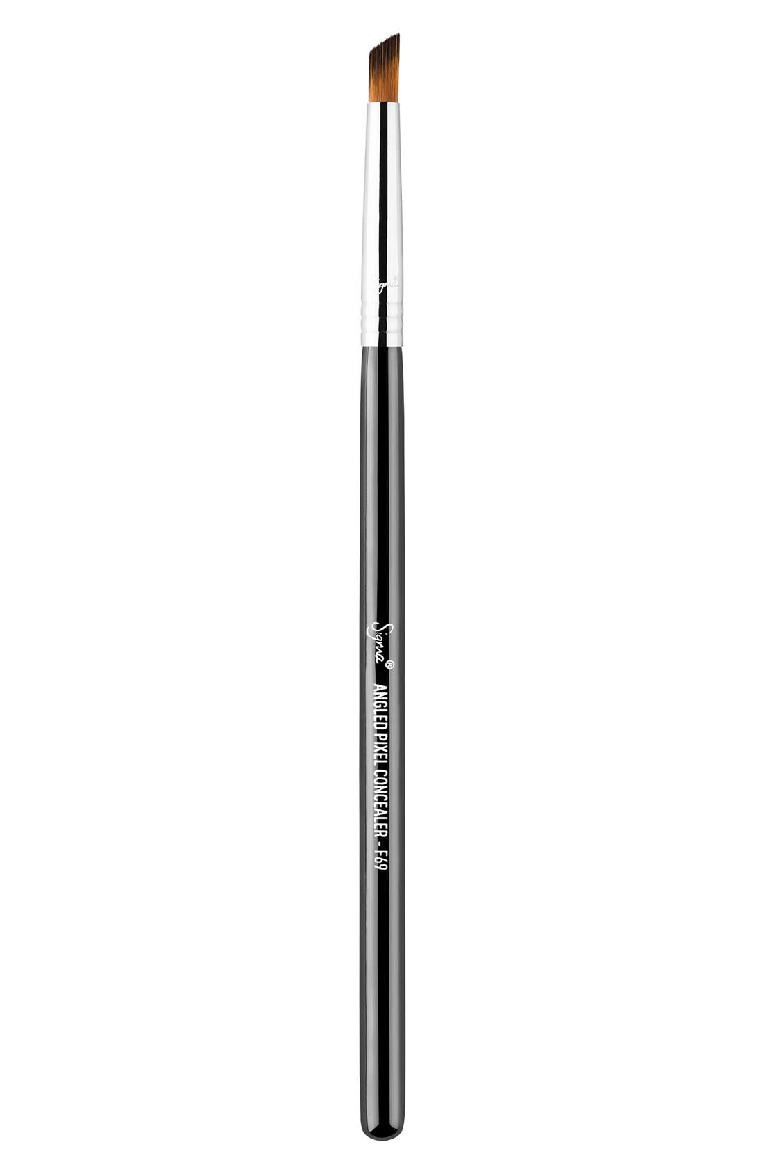 F69 Angled Pixel Concealer<sup>™</sup> Brush,                             Main thumbnail 1, color,                             NO COLOR
