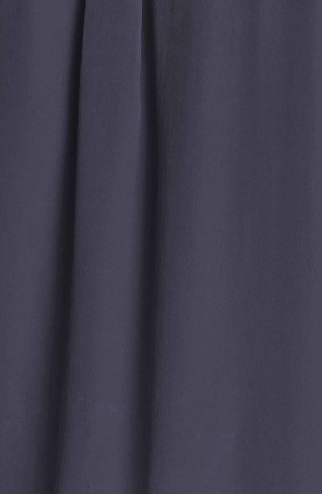 'Slim Signature' Sleeveless Silk Shirt,                             Alternate thumbnail 102, color,