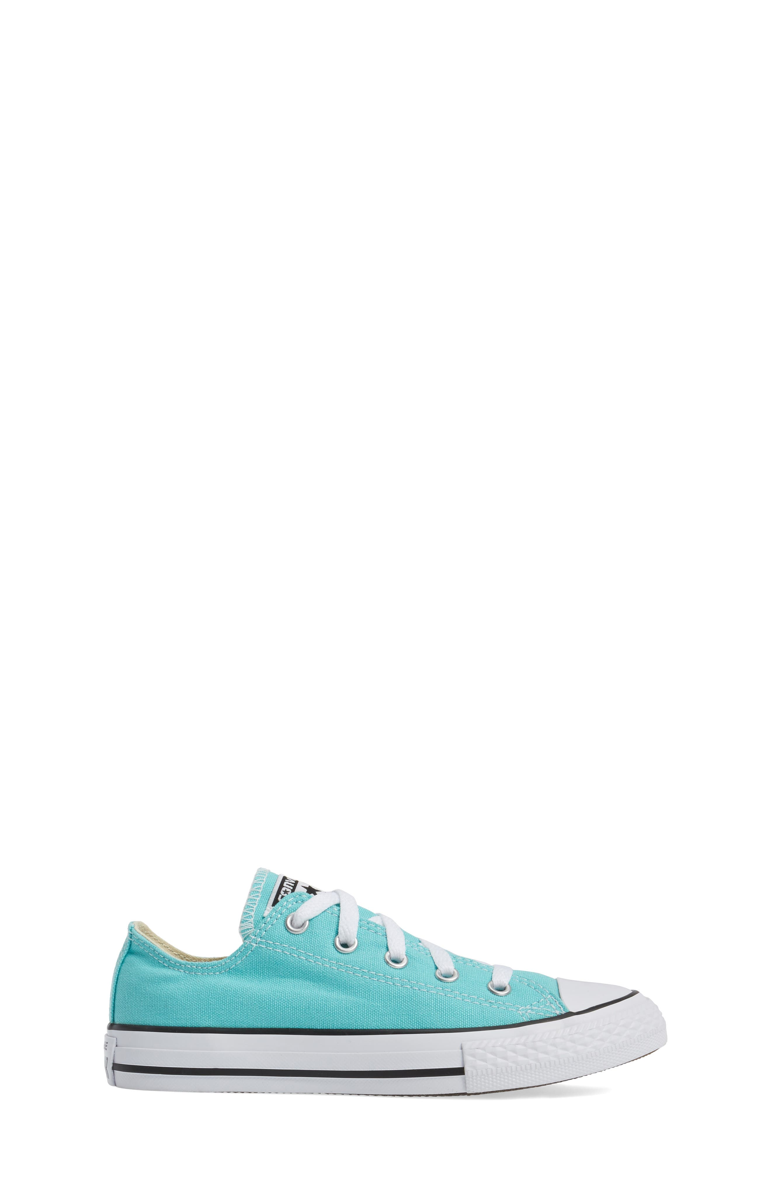 Chuck Taylor<sup>®</sup> All Star<sup>®</sup> Low Top Sneaker,                             Alternate thumbnail 3, color,                             406