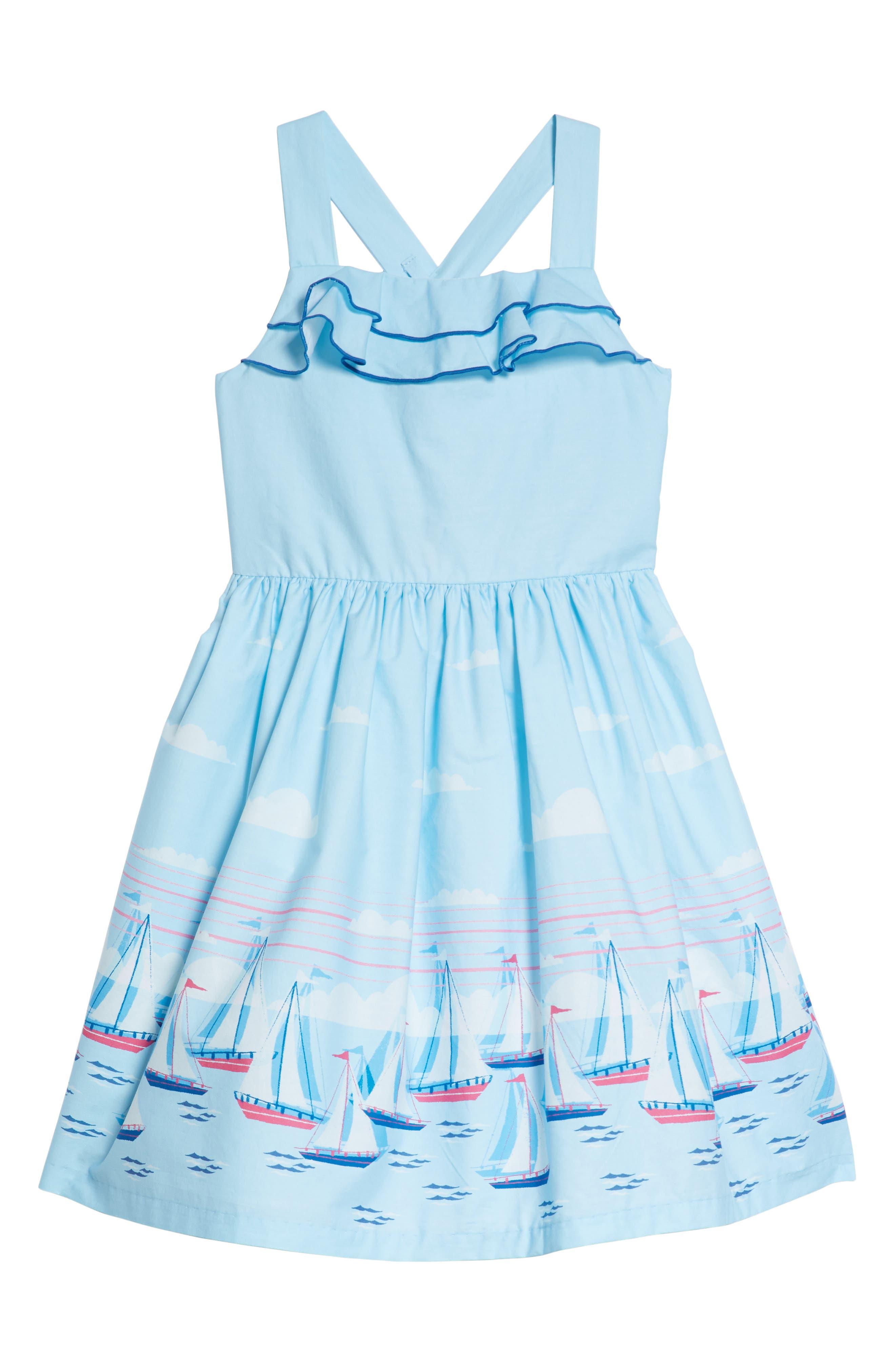 Sailboat Dress,                         Main,                         color, 400