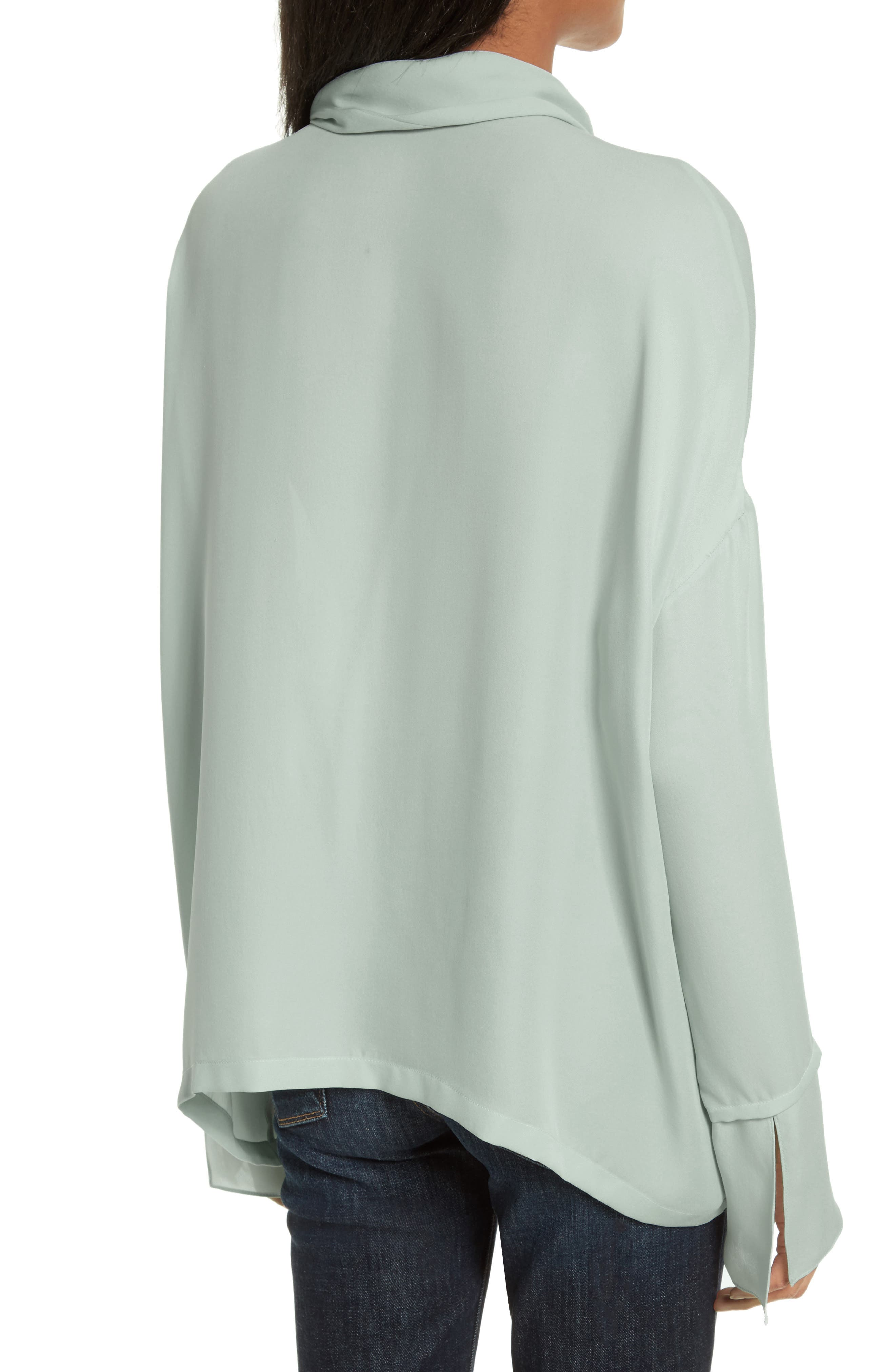 Silk Scarf Shirt,                             Alternate thumbnail 2, color,                             392