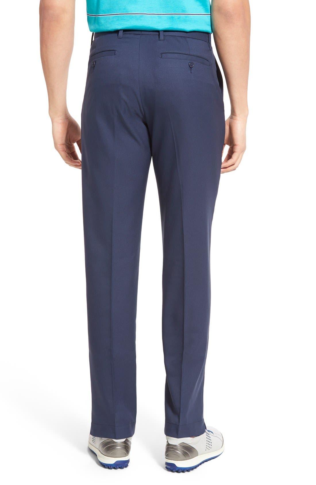 'Tech' Flat Front Wrinkle Free Golf Pants,                             Alternate thumbnail 7, color,