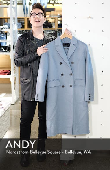 Taylor Double Breasted Wool Coat, sales video thumbnail