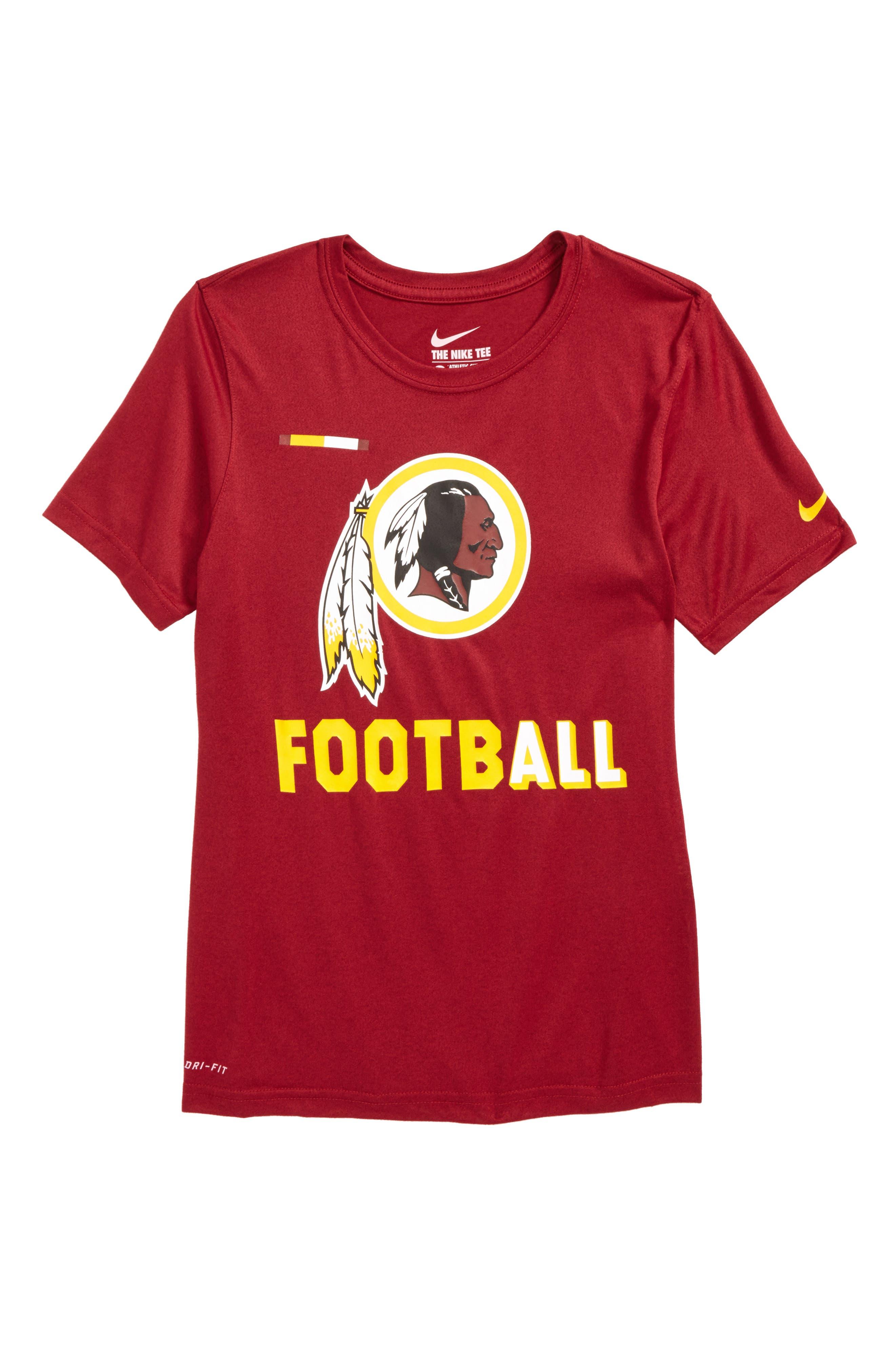 Nike NFL Logo - Washington DC Dry T-Shirt,                             Main thumbnail 1, color,