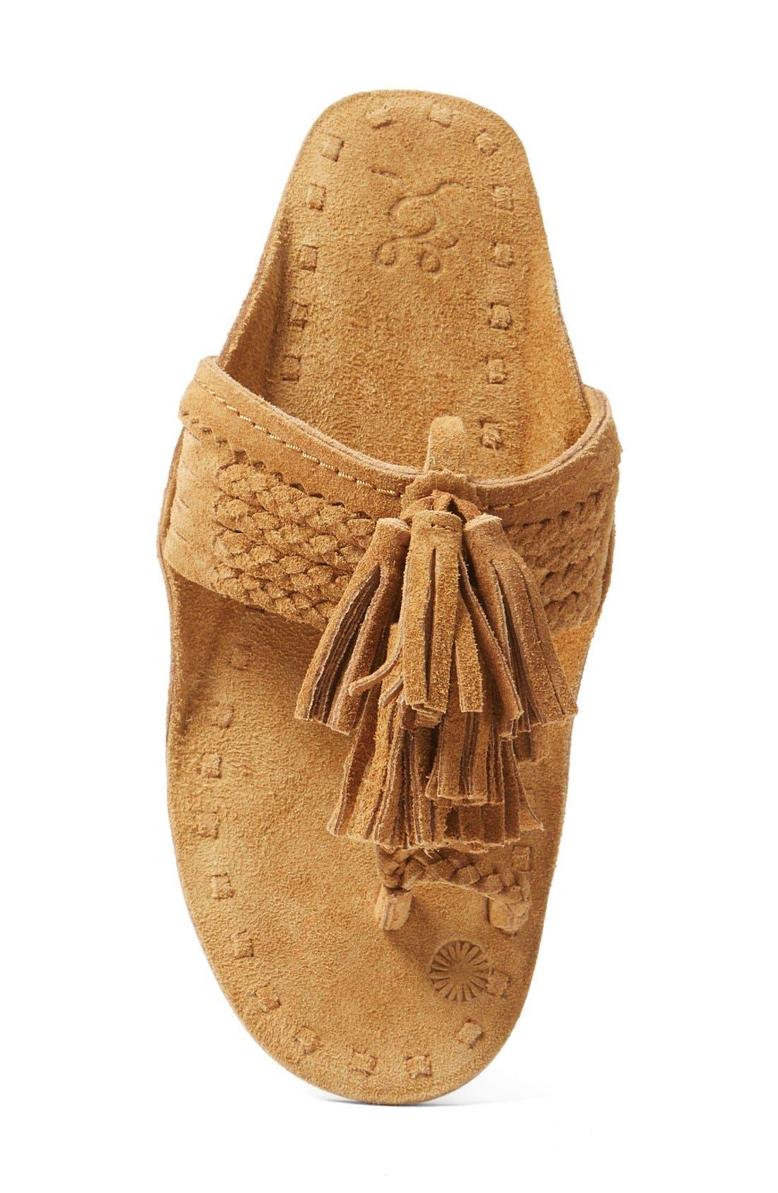 Scaramouch Tassel Sandal,                             Alternate thumbnail 4, color,                             200