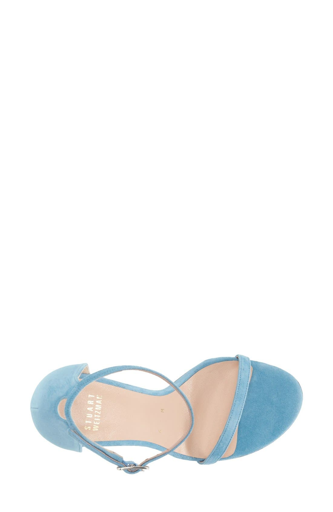 Nudistsong Ankle Strap Sandal,                             Alternate thumbnail 72, color,
