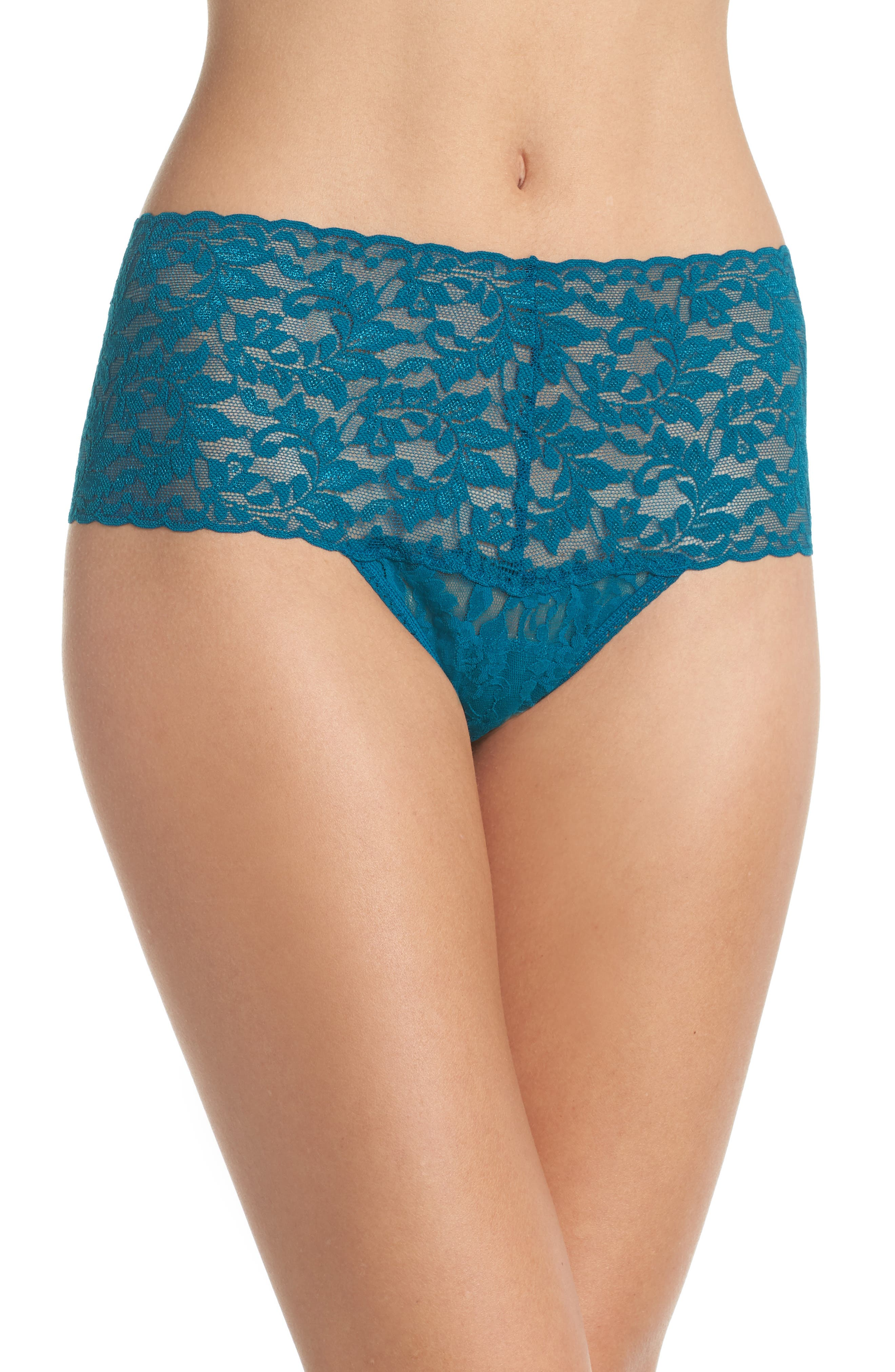 'Retro' Thong,                         Main,                         color, ENCHANTED FOREST