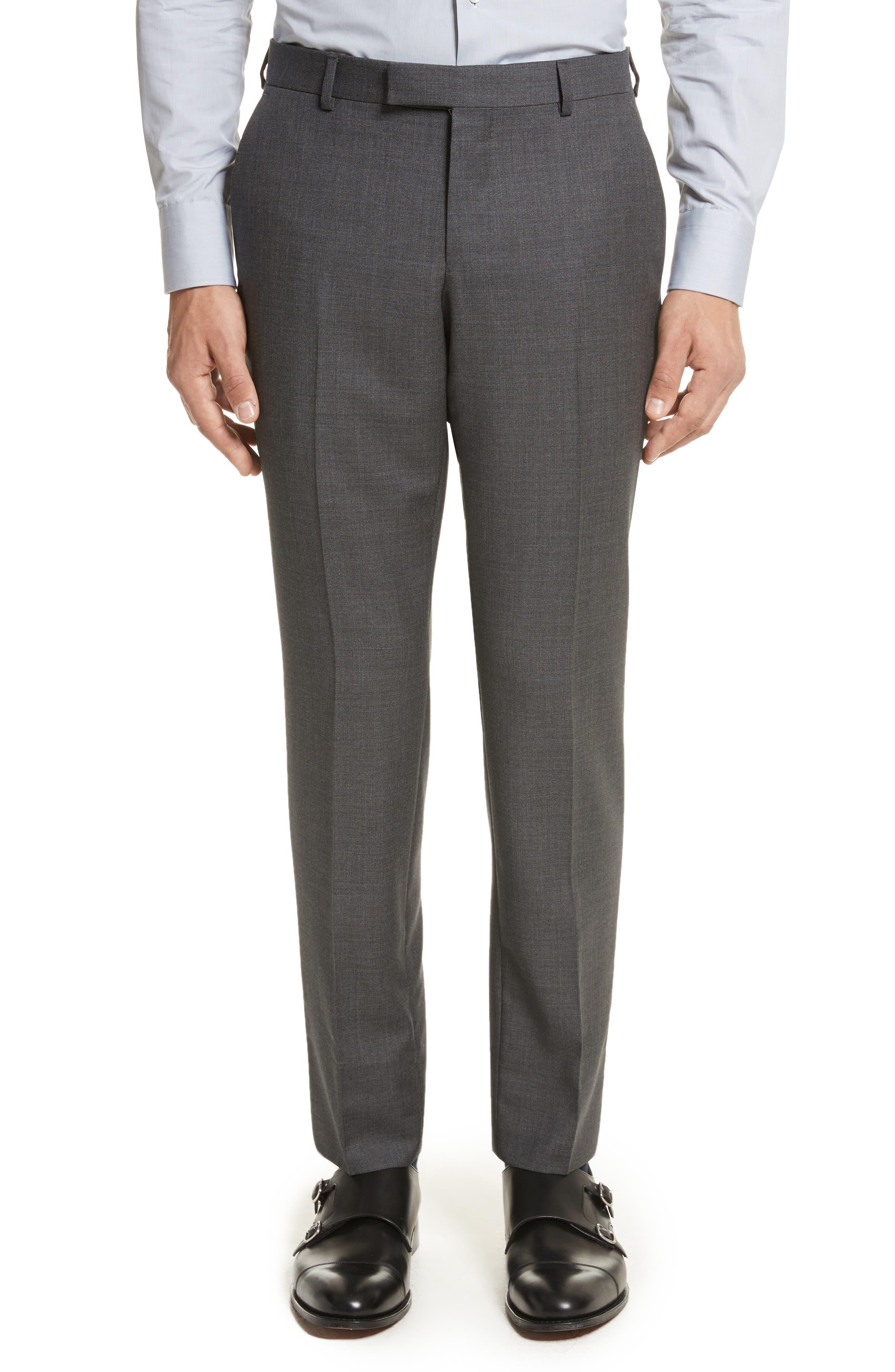 Z ZEGNA,                             Classic Fit Wool Suit,                             Alternate thumbnail 6, color,                             022
