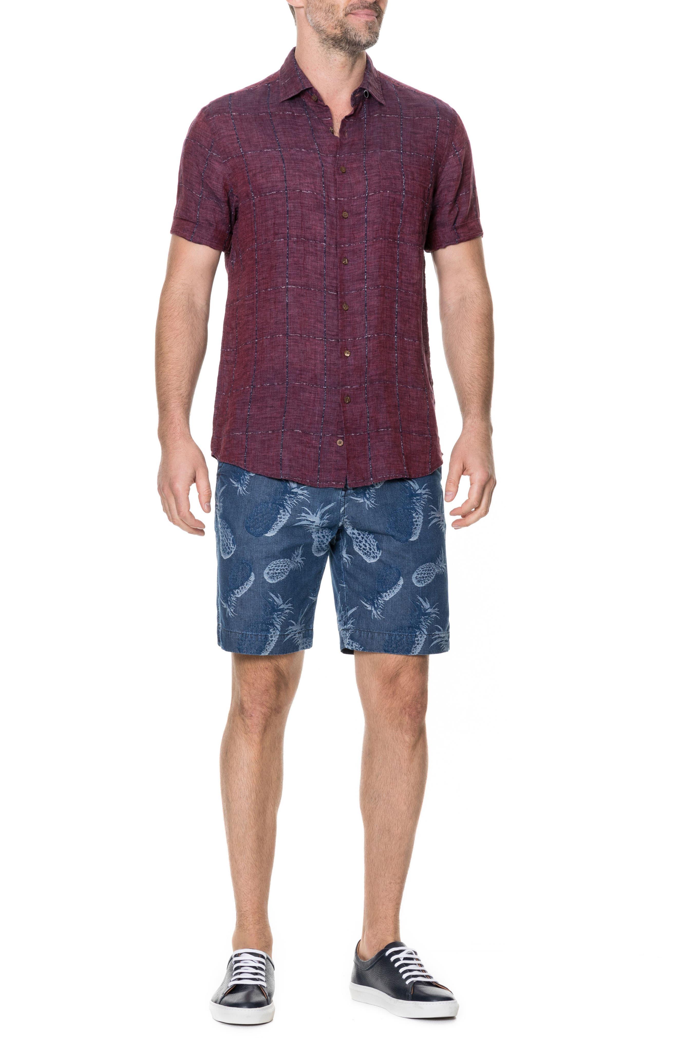 Saddleback Regular Fit Sport Shirt,                             Alternate thumbnail 5, color,