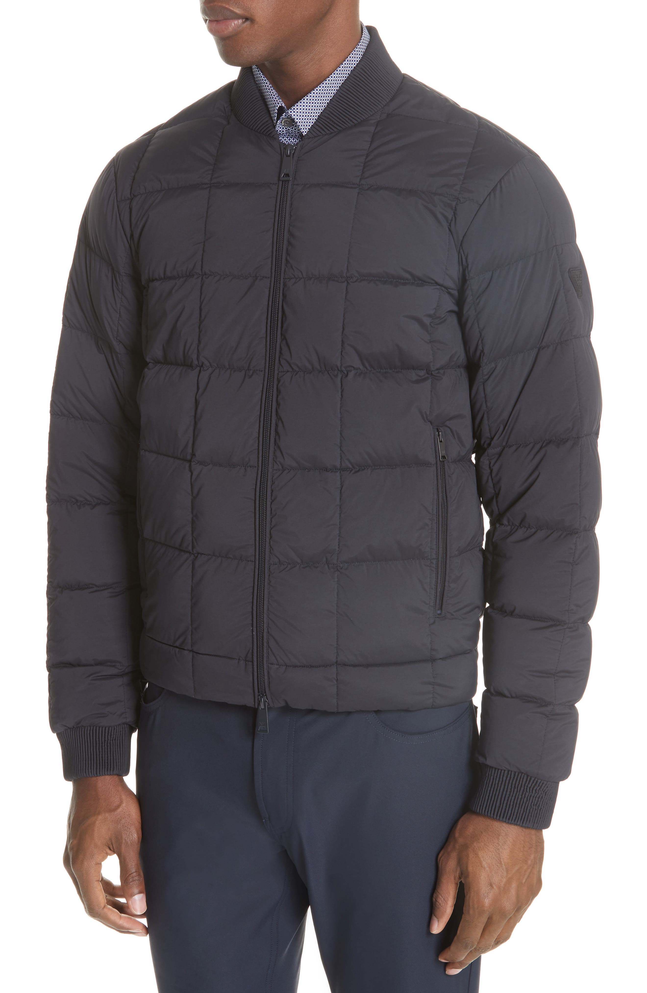 Quilted Down Jacket,                             Alternate thumbnail 4, color,                             400