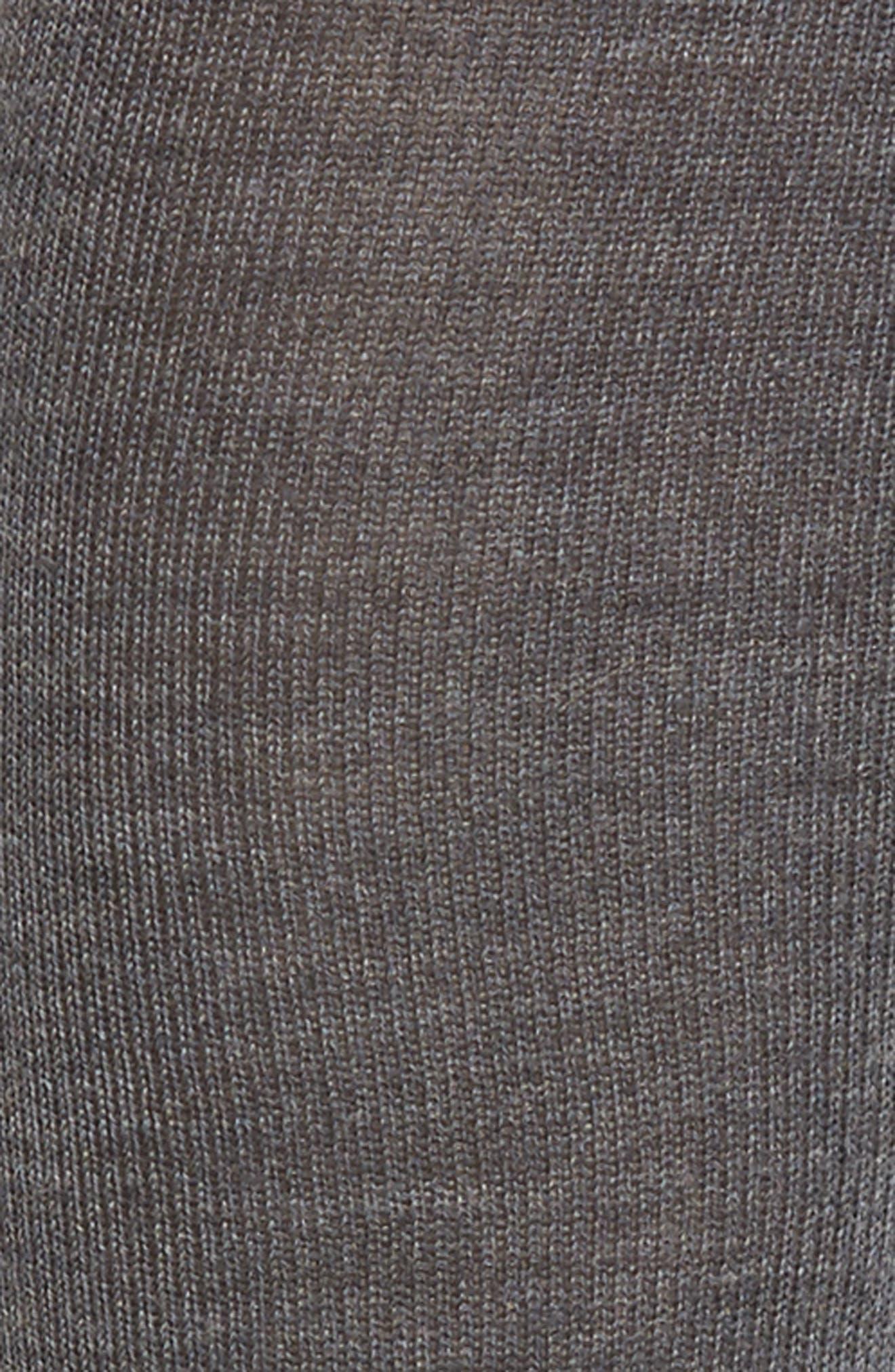 Merino Wool Blend Knee Socks,                             Alternate thumbnail 2, color,                             098