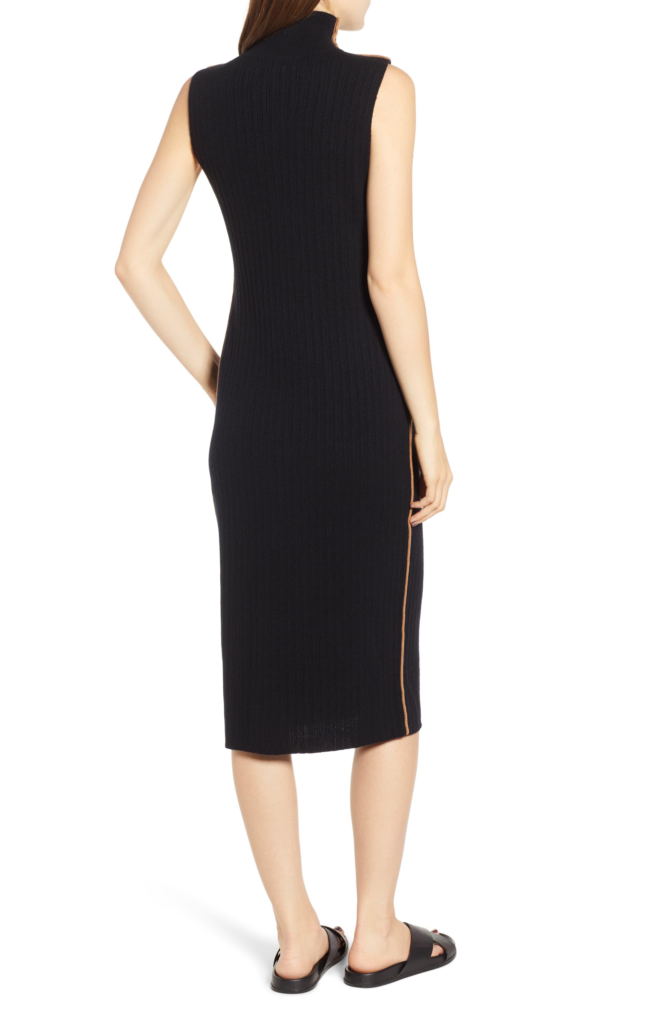 N:PHILANTHROPY,                             Henry Sweater Dress,                             Alternate thumbnail 2, color,                             BLACK CAT
