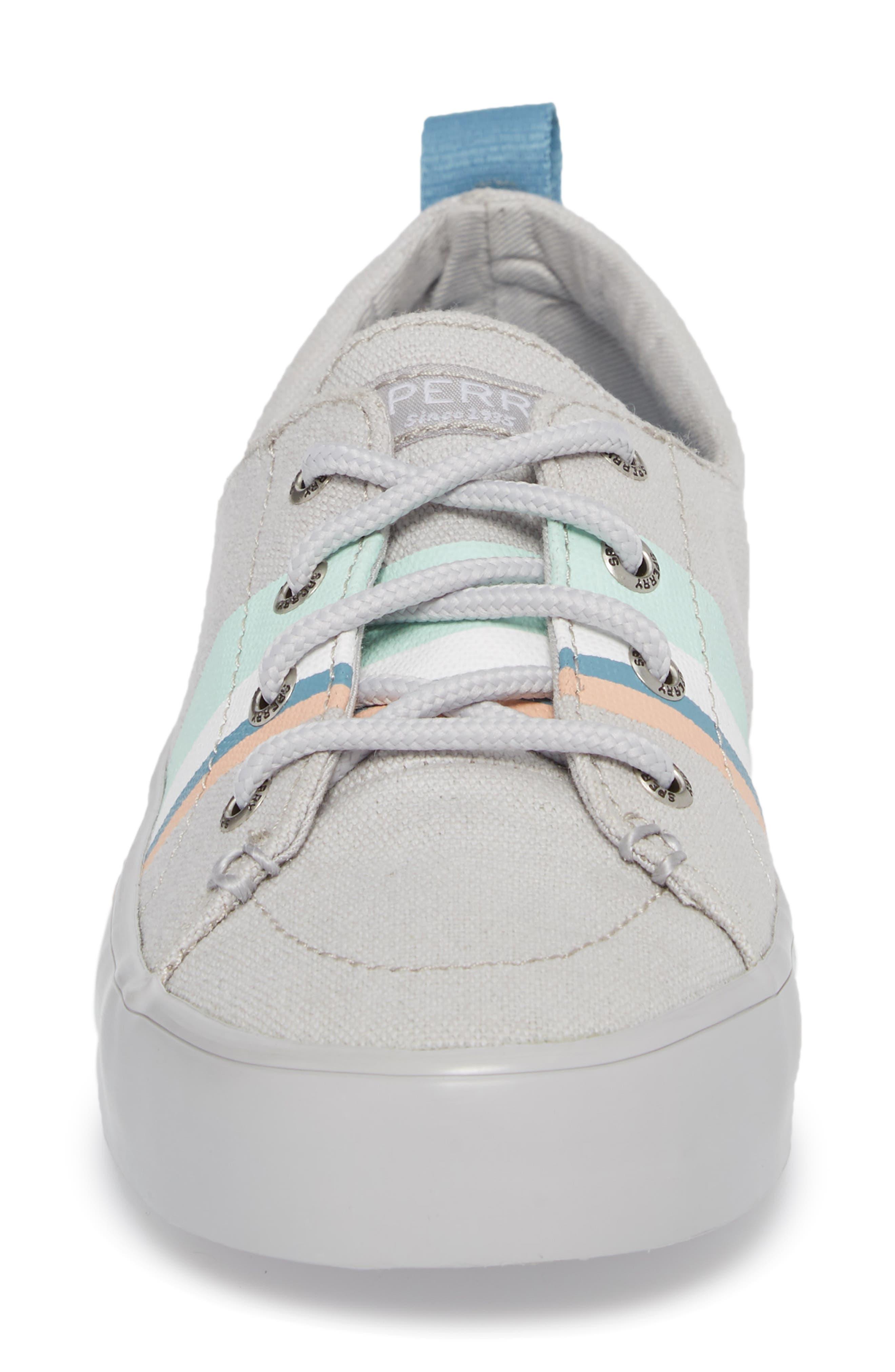 Crest Vibe Slip-On Sneaker,                             Alternate thumbnail 4, color,                             050