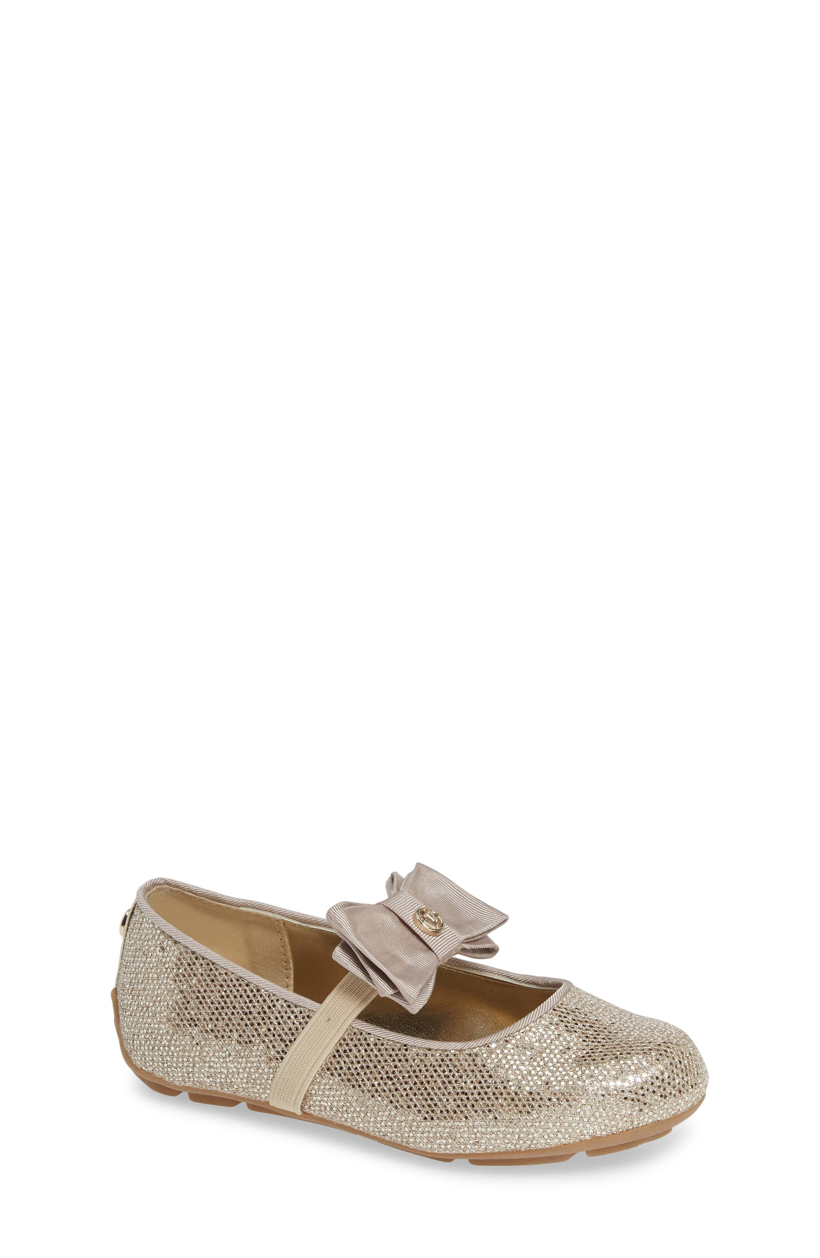Rover Day Sparkle Ballet Flat,                             Main thumbnail 1, color,                             SAND