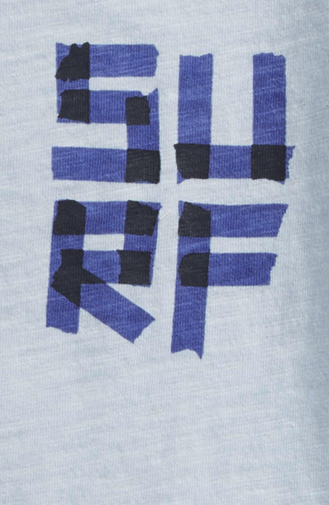Surf Graphic T-Shirt,                             Alternate thumbnail 3, color,                             400